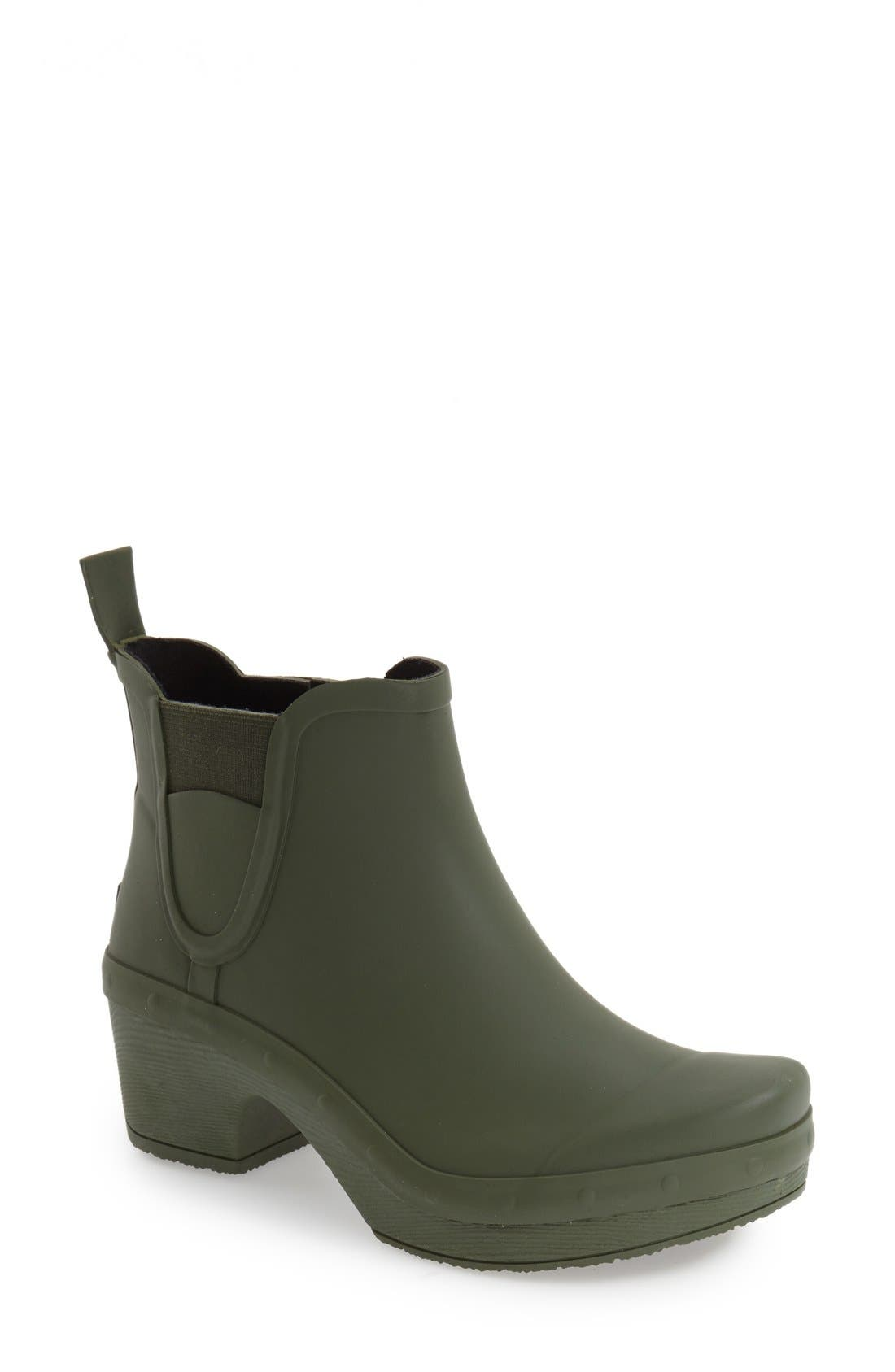 'Rosa' Chelsea Rain Boot,                             Main thumbnail 1, color,