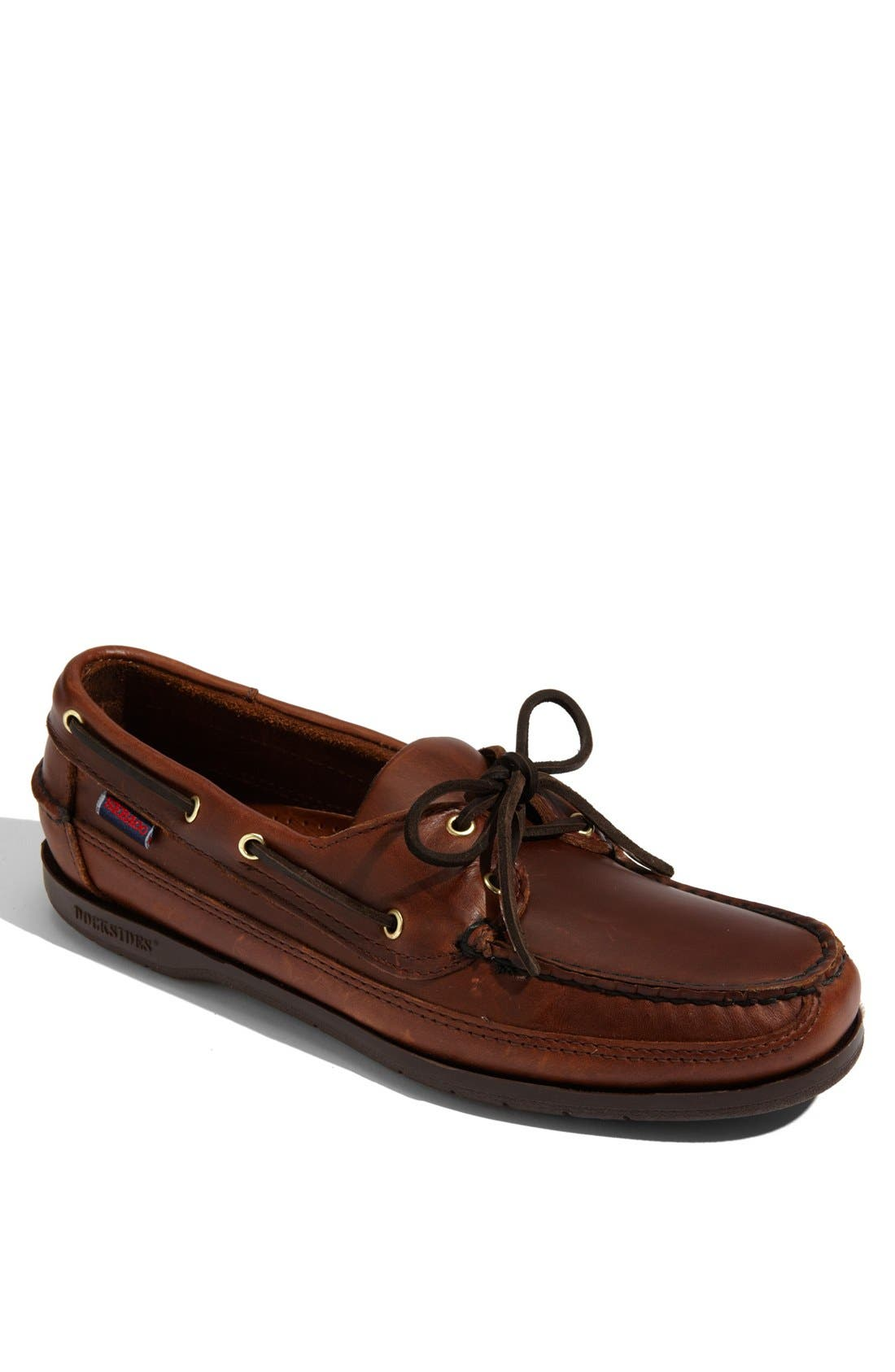 'Schooner' Boat Shoe,                             Main thumbnail 1, color,                             200