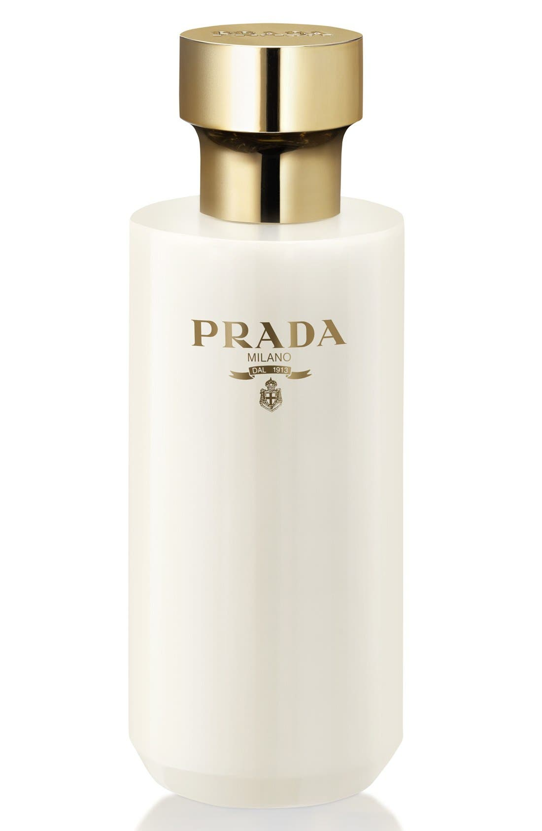 La Femme Prada Satin Body Lotion,                             Main thumbnail 1, color,                             NO COLOR