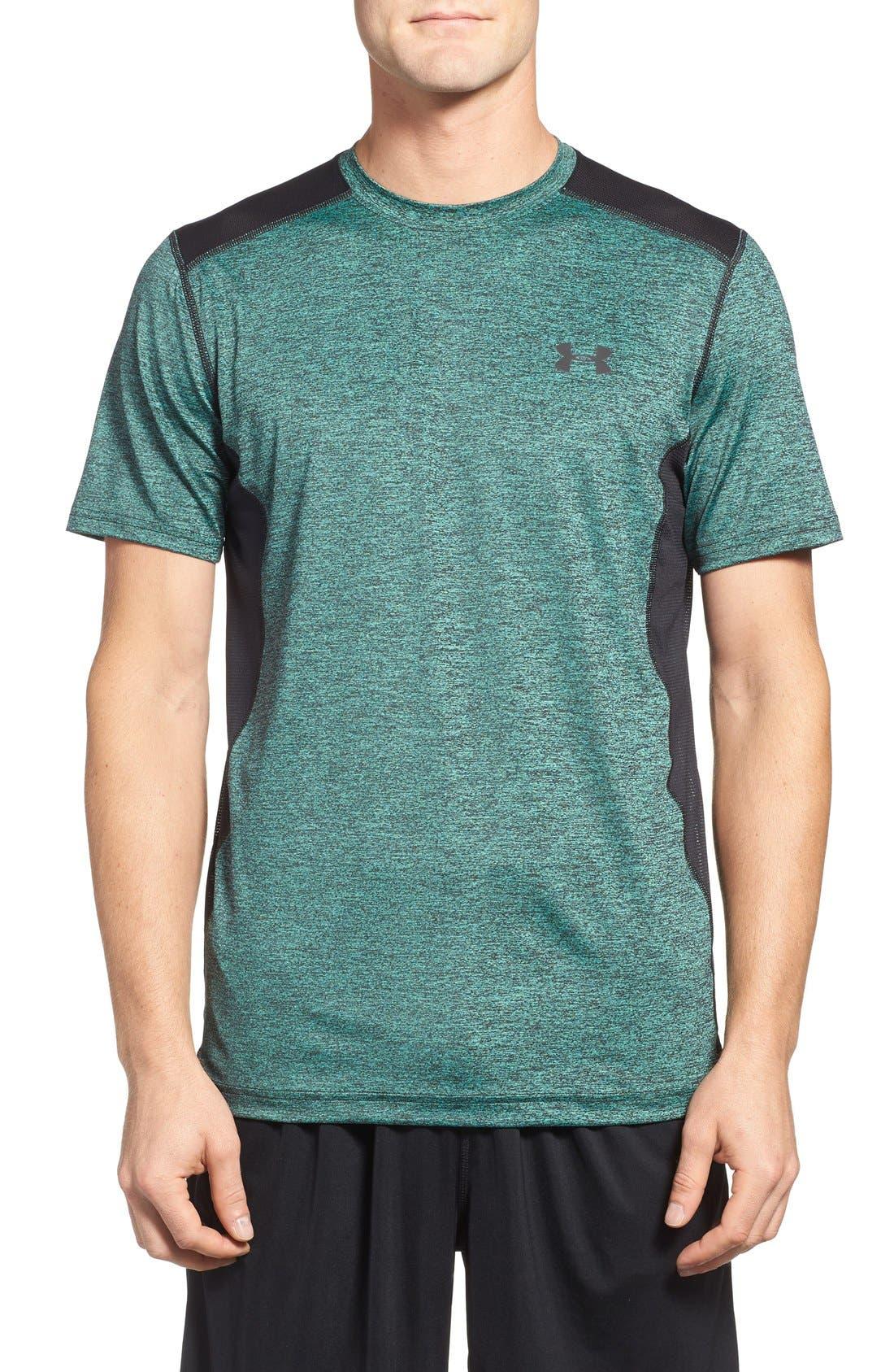 'Raid' HeatGear<sup>®</sup> Training T-Shirt,                             Main thumbnail 14, color,