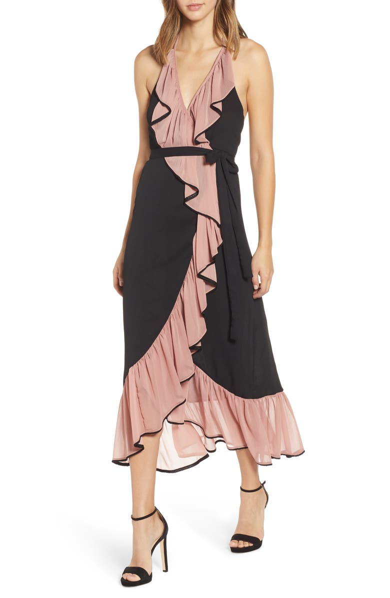 Misa DOMANIK WRAP DRESS