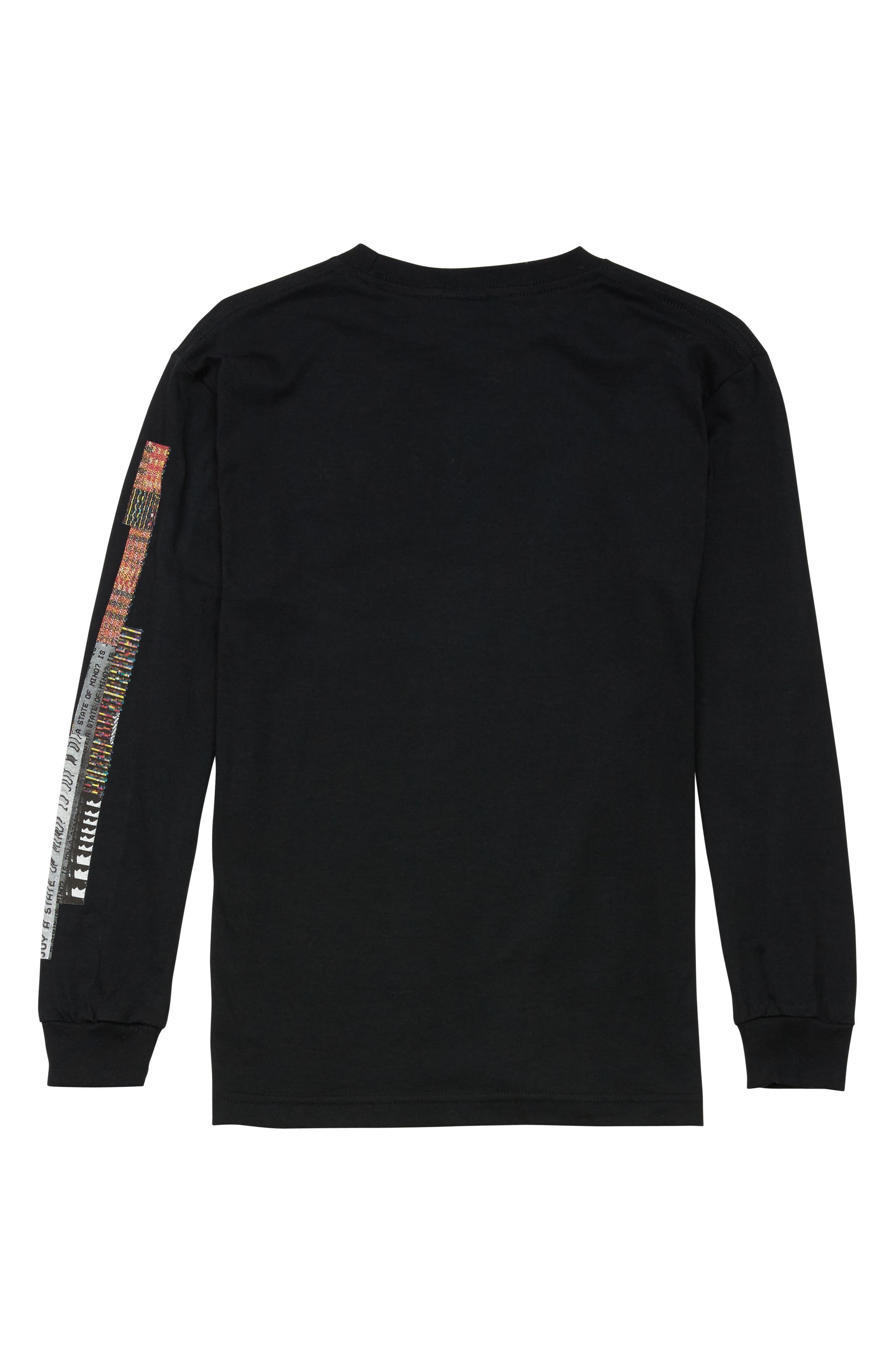 Noa Noise Graphic T-Shirt,                             Alternate thumbnail 2, color,                             BLACK