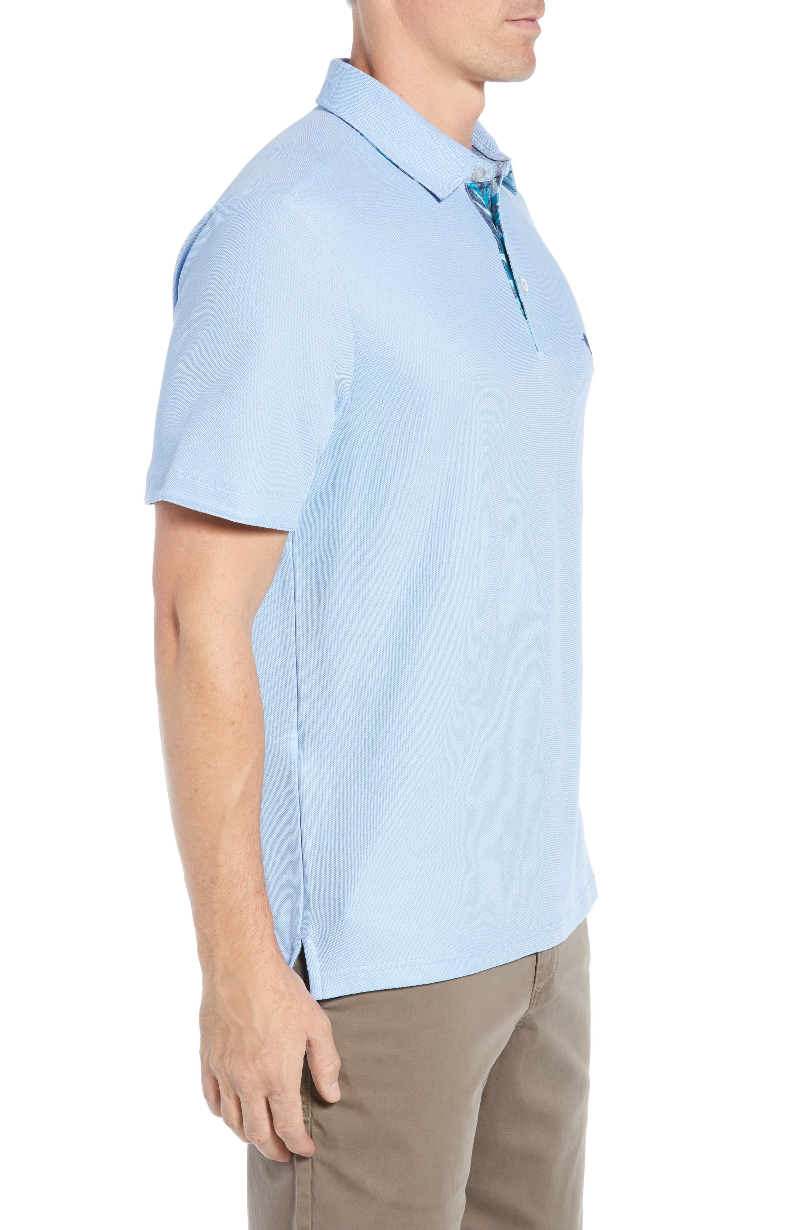 Five O'Clock Polo Shirt,                             Alternate thumbnail 3, color,                             400