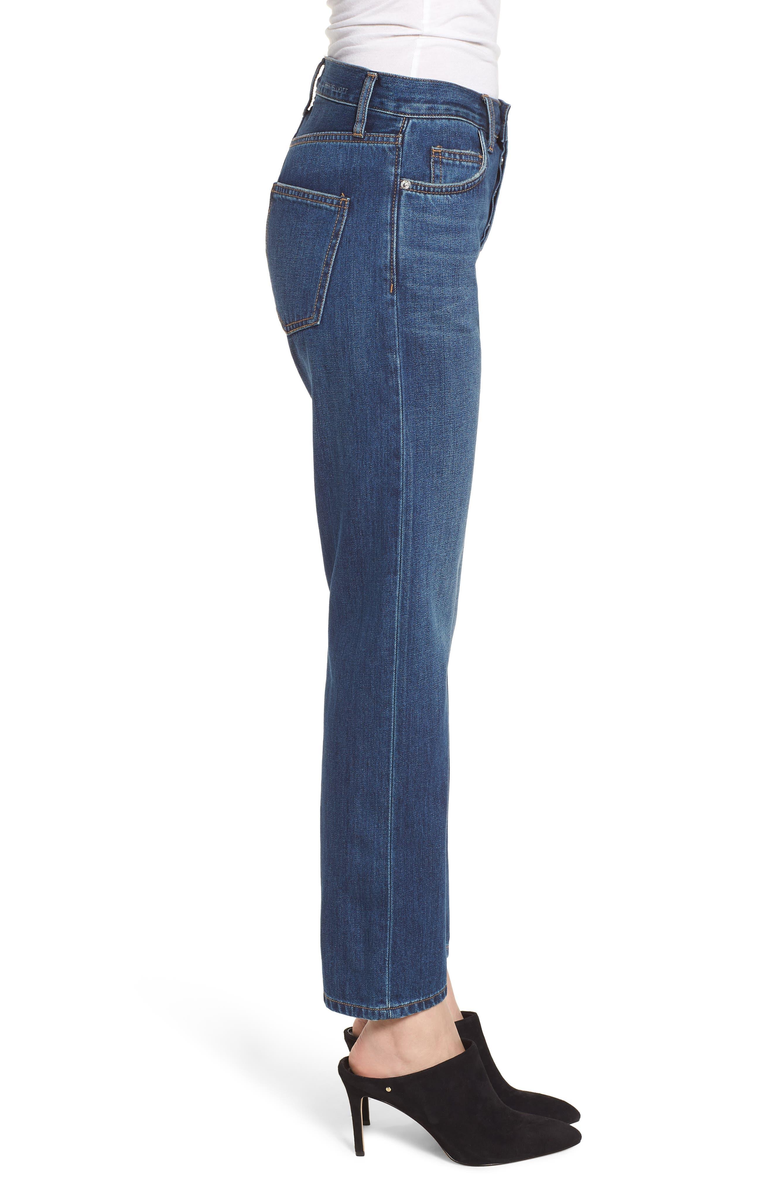 The Original Straight Leg Jeans,                             Alternate thumbnail 3, color,                             472