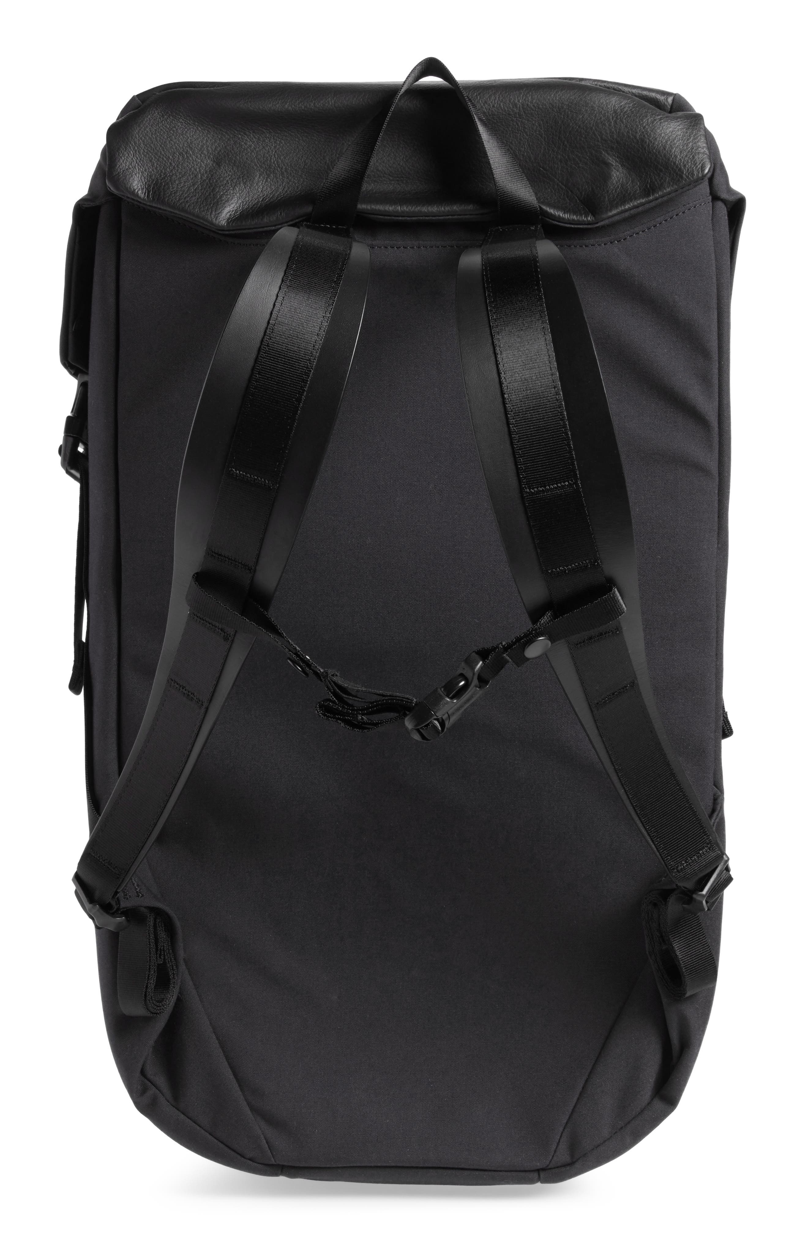Locker Pack Lux Backpack,                             Alternate thumbnail 3, color,                             001