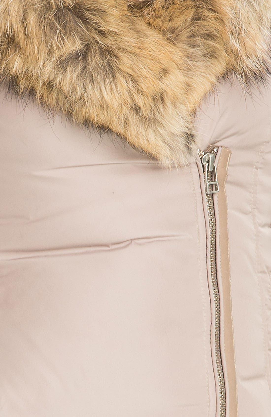 MACKAGE,                             'Akiva' Genuine Fox & Rabbit Fur Trim Down Coat,                             Alternate thumbnail 2, color,                             250