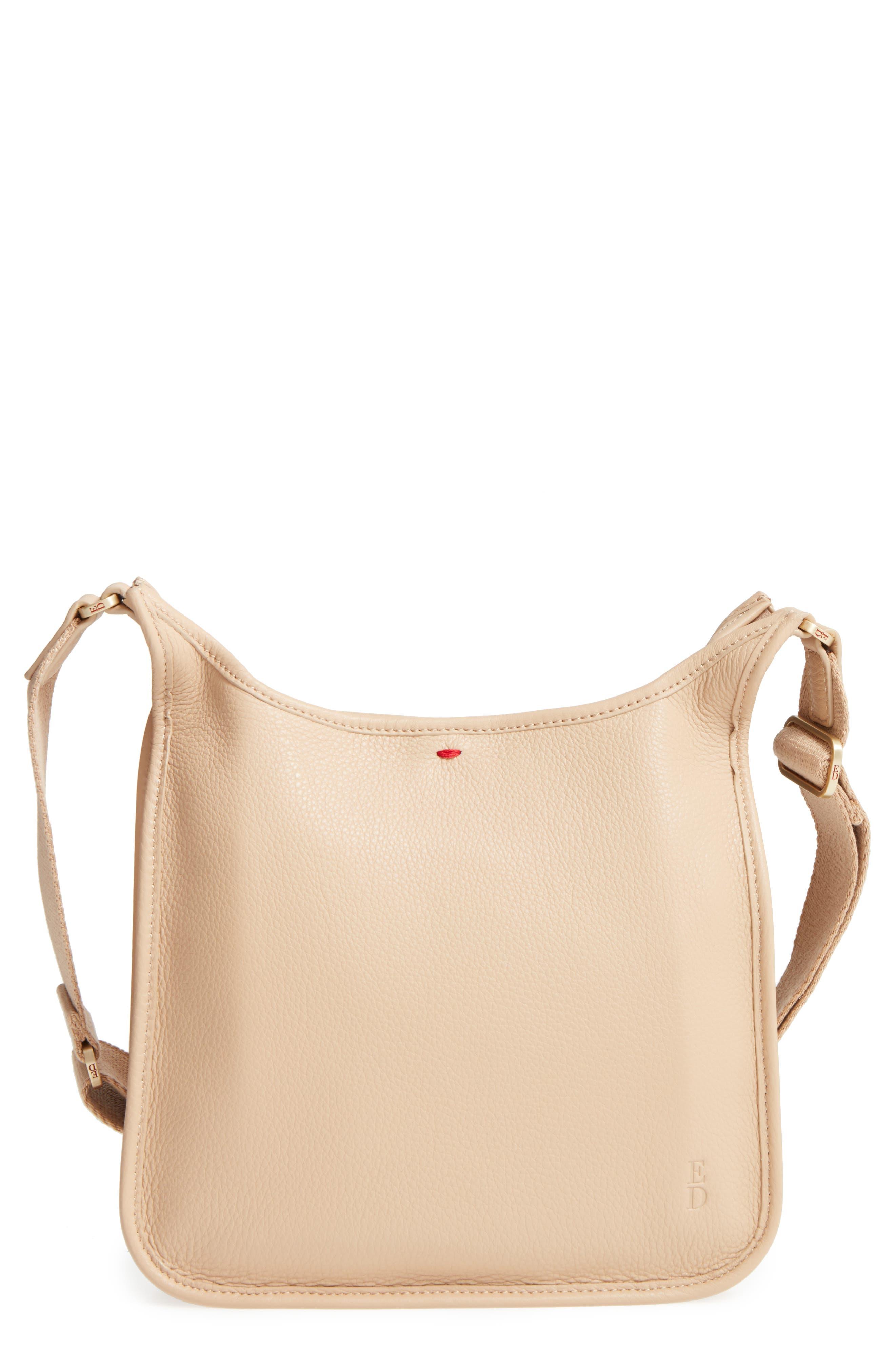 Leather Crossbody Bag,                             Main thumbnail 5, color,