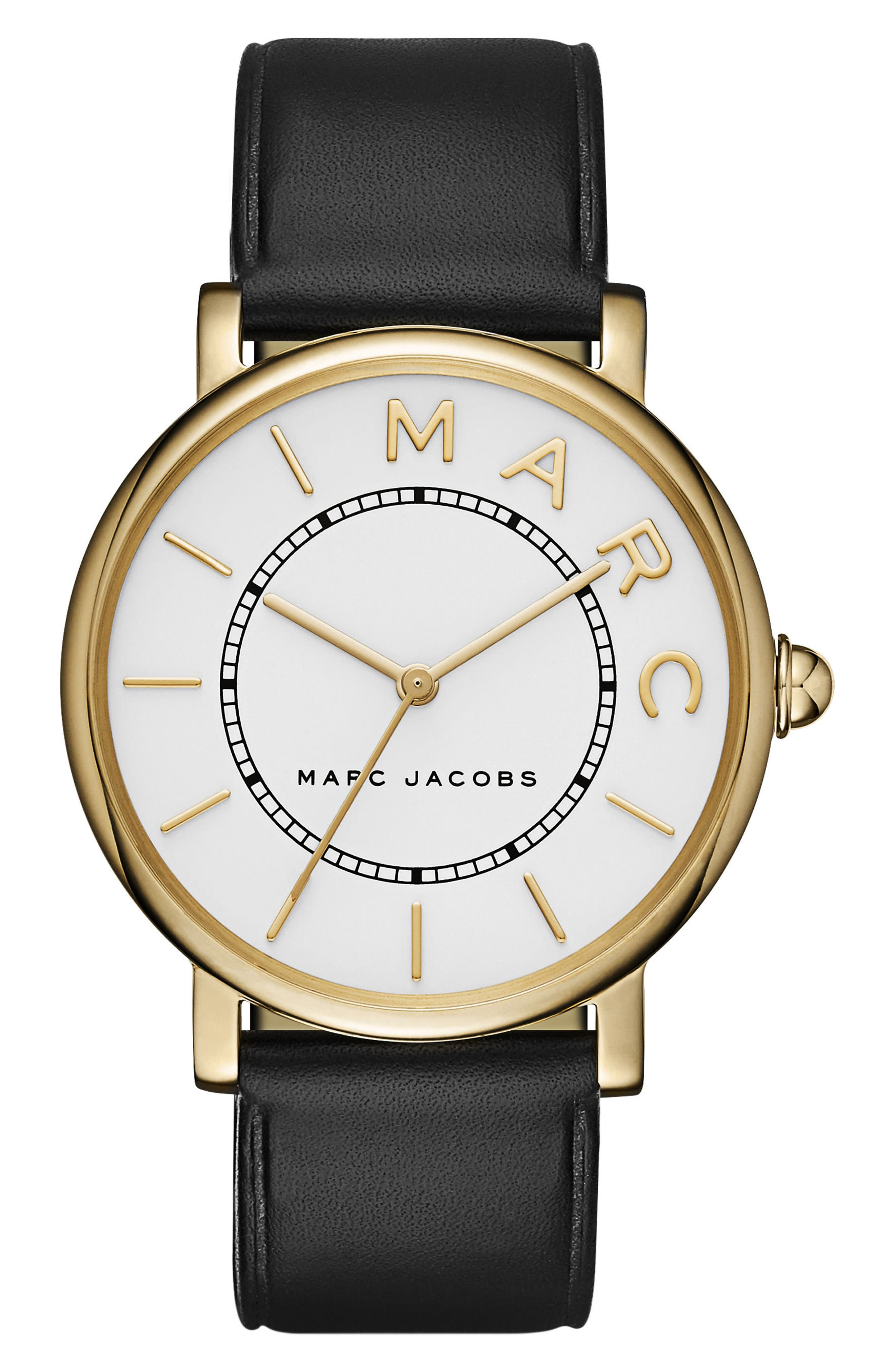 Classic Leather Strap Watch, 36mm,                         Main,                         color,