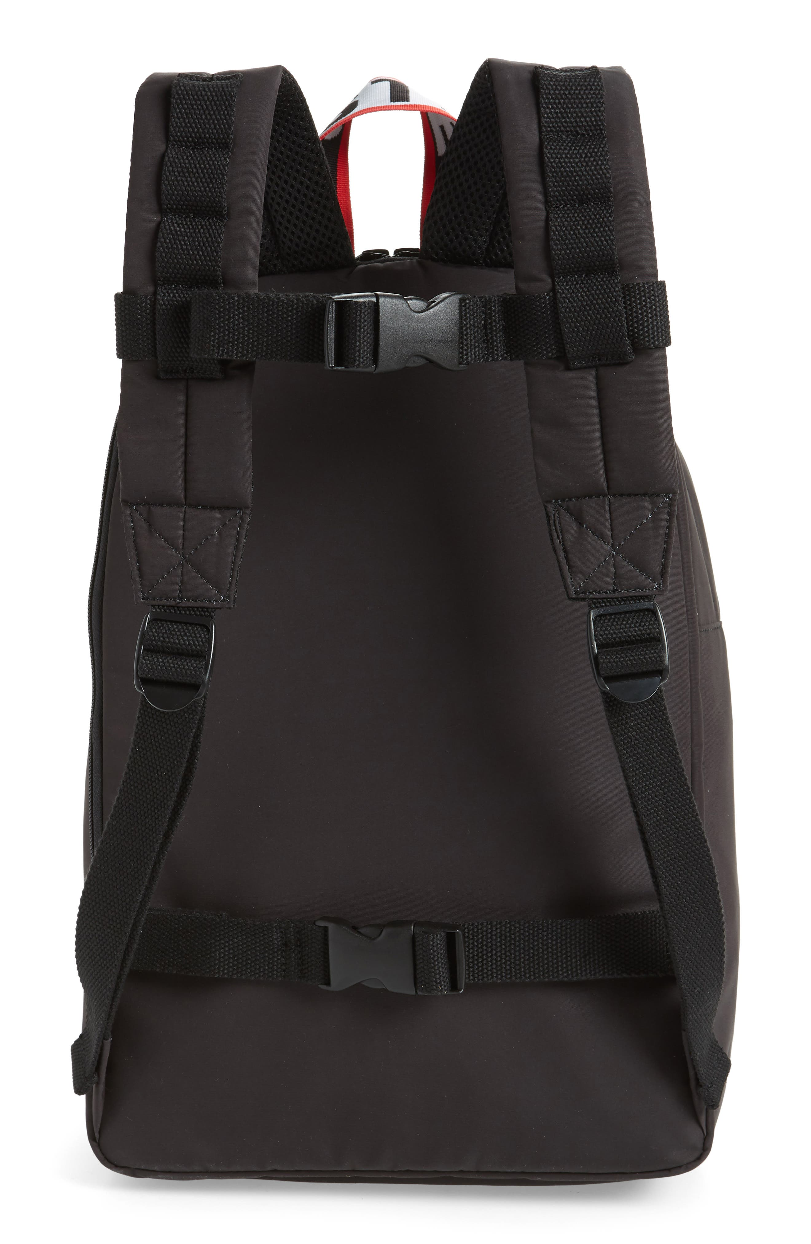 Stella Logo Backpack,                             Alternate thumbnail 2, color,                             BLACK