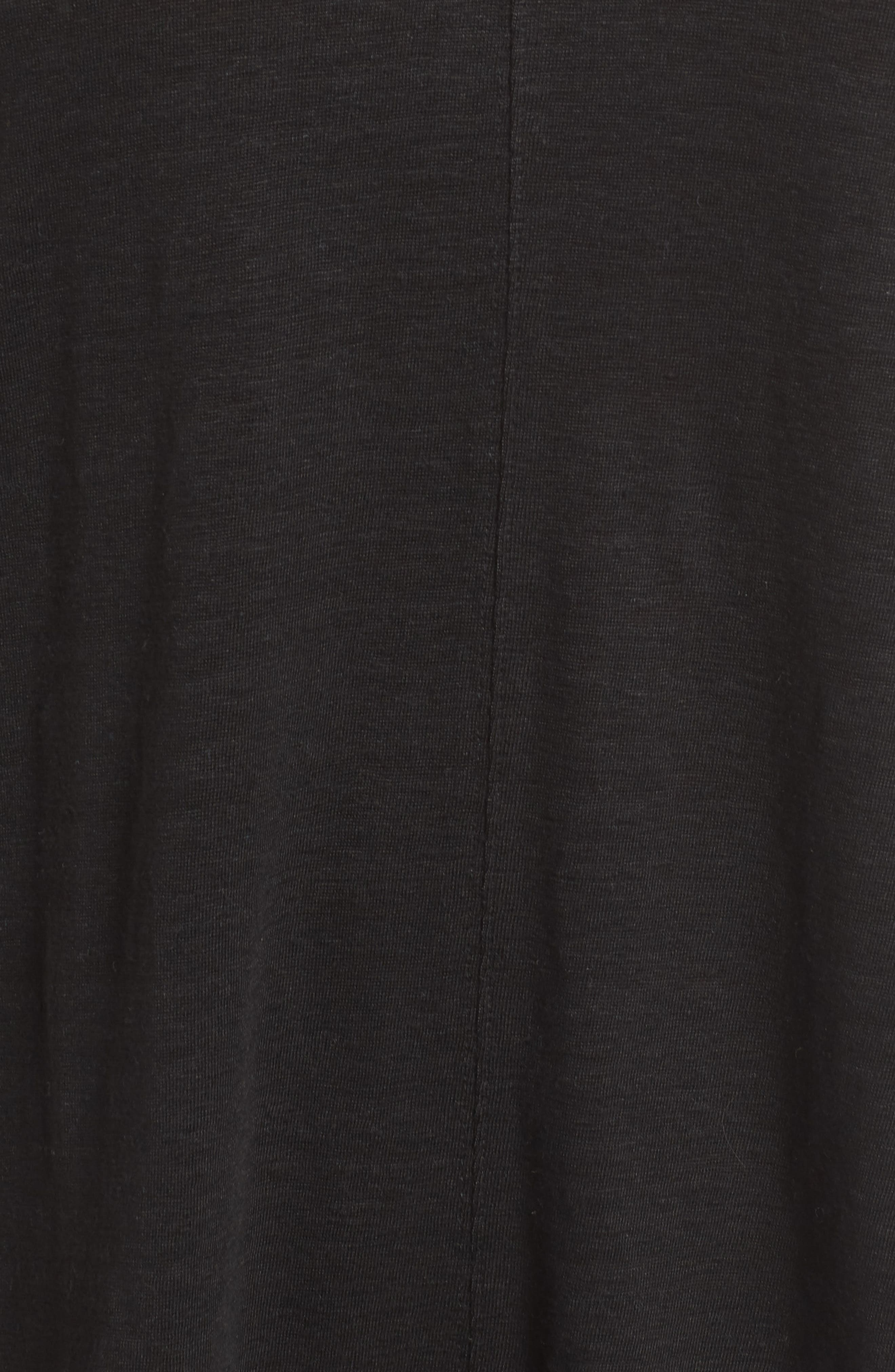 EILEEN FISHER,                             Organic Linen Top,                             Alternate thumbnail 6, color,                             001