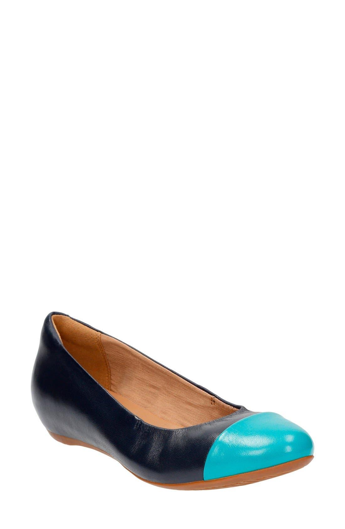 'Alitay Susan' Cap Toe Flat,                             Main thumbnail 4, color,
