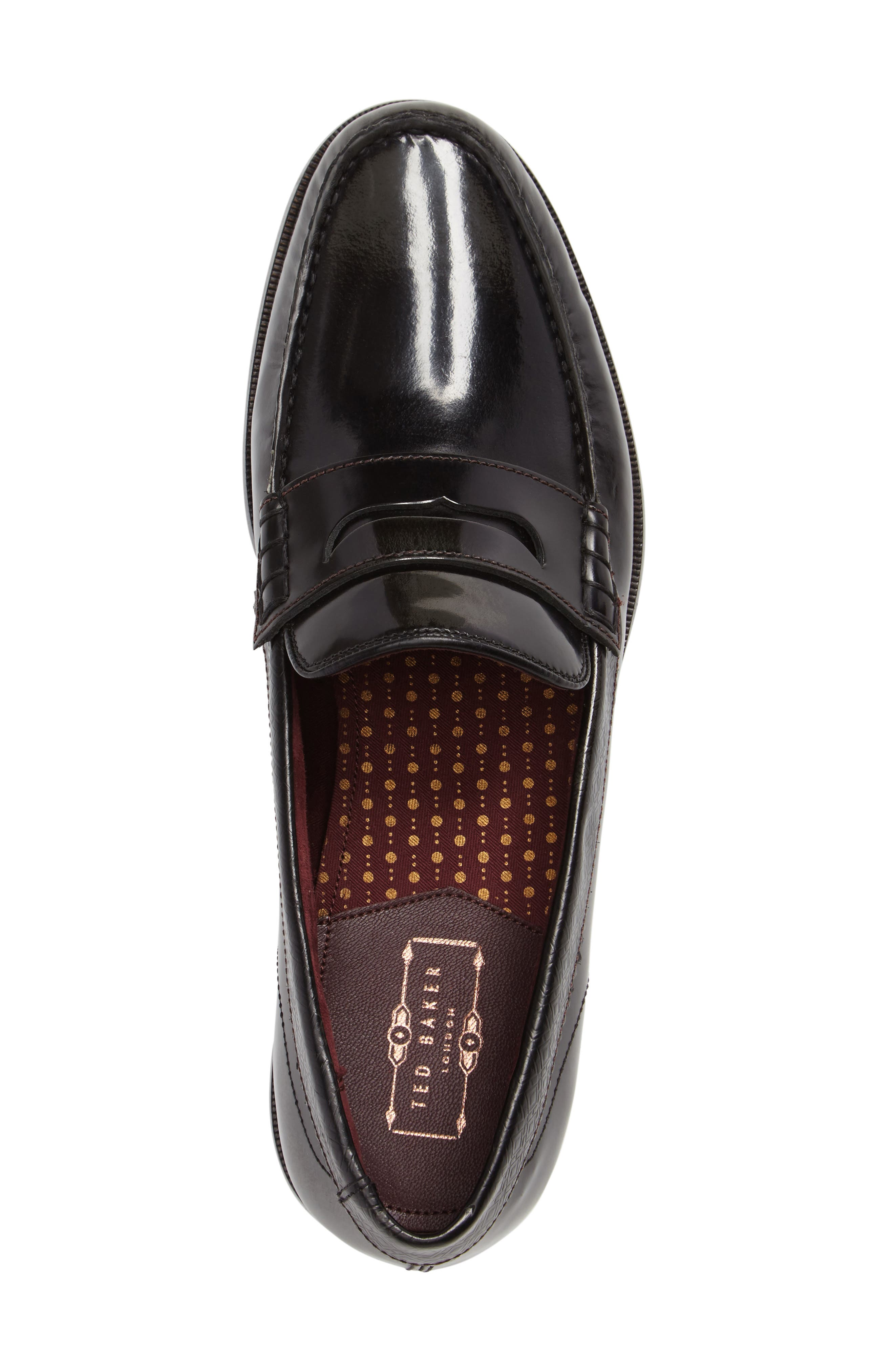 Rommeo Penny Loafer,                             Alternate thumbnail 4, color,                             028