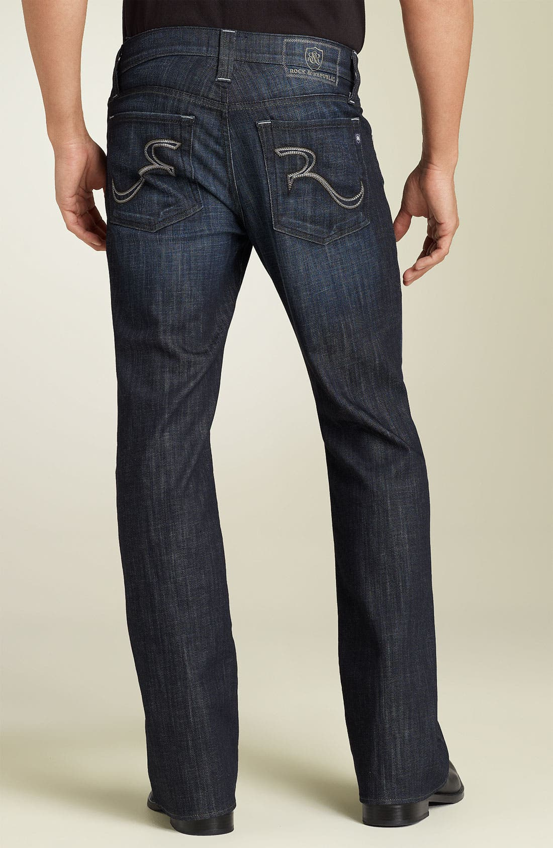 ROCK & REPUBLIC 'Henlee' Bootcut Jeans, Main, color, 400