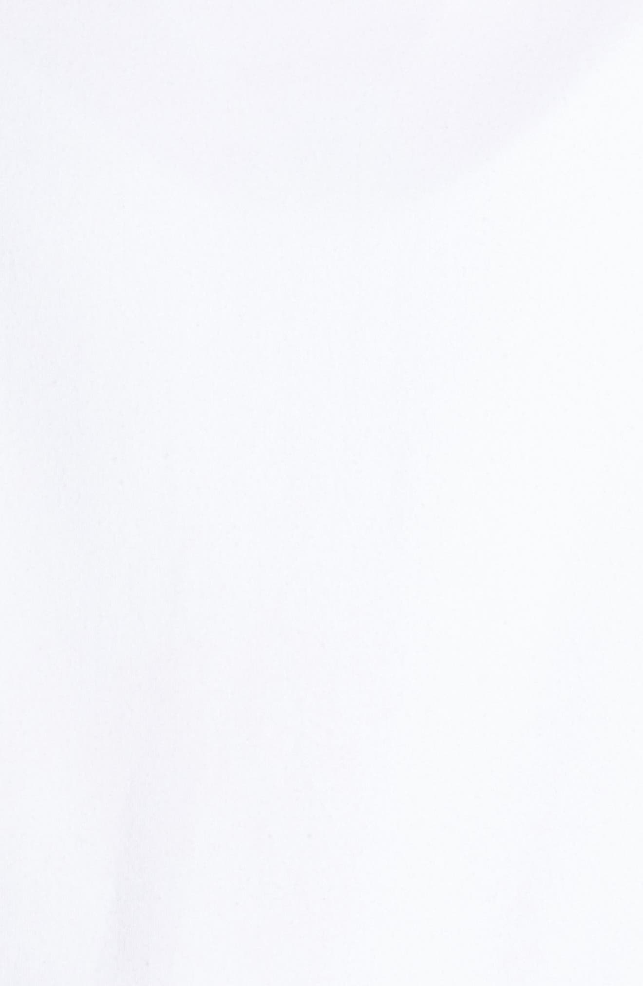 Notch Hoodie Sweatshirt,                             Alternate thumbnail 6, color,                             WHITE