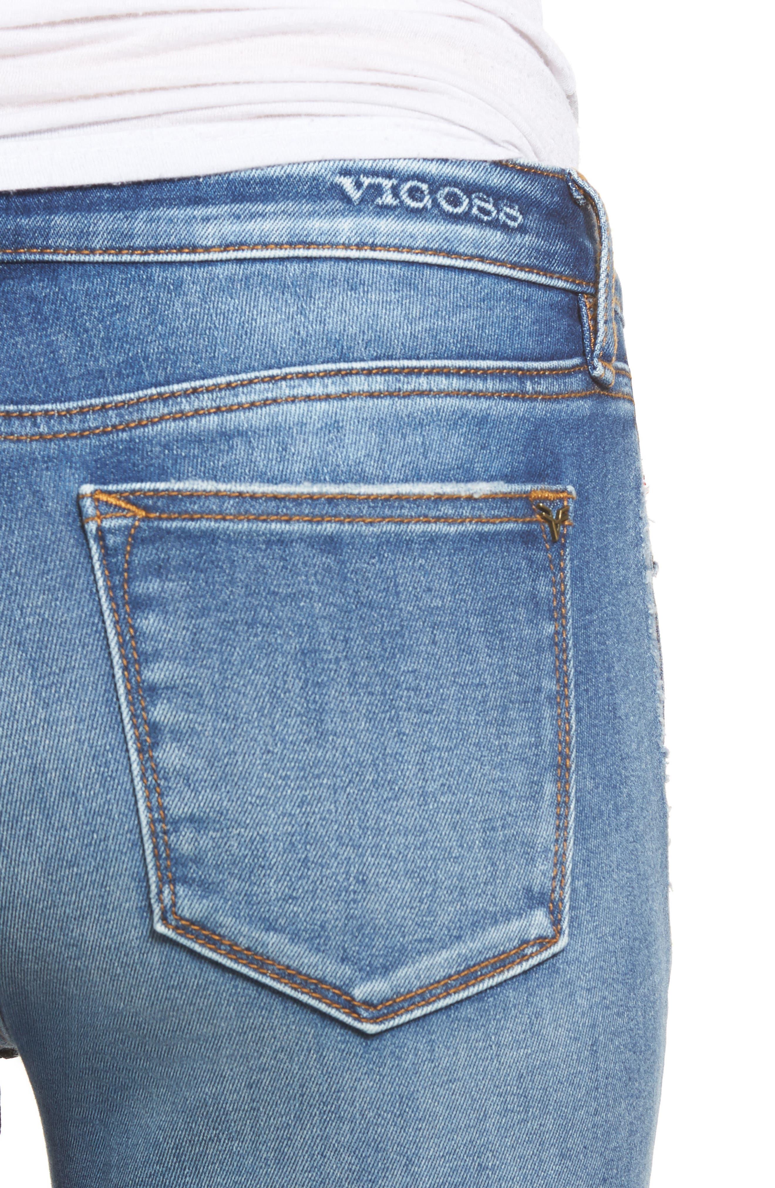 VIGOSS,                             Jagger Skinny Jeans,                             Alternate thumbnail 4, color,                             426