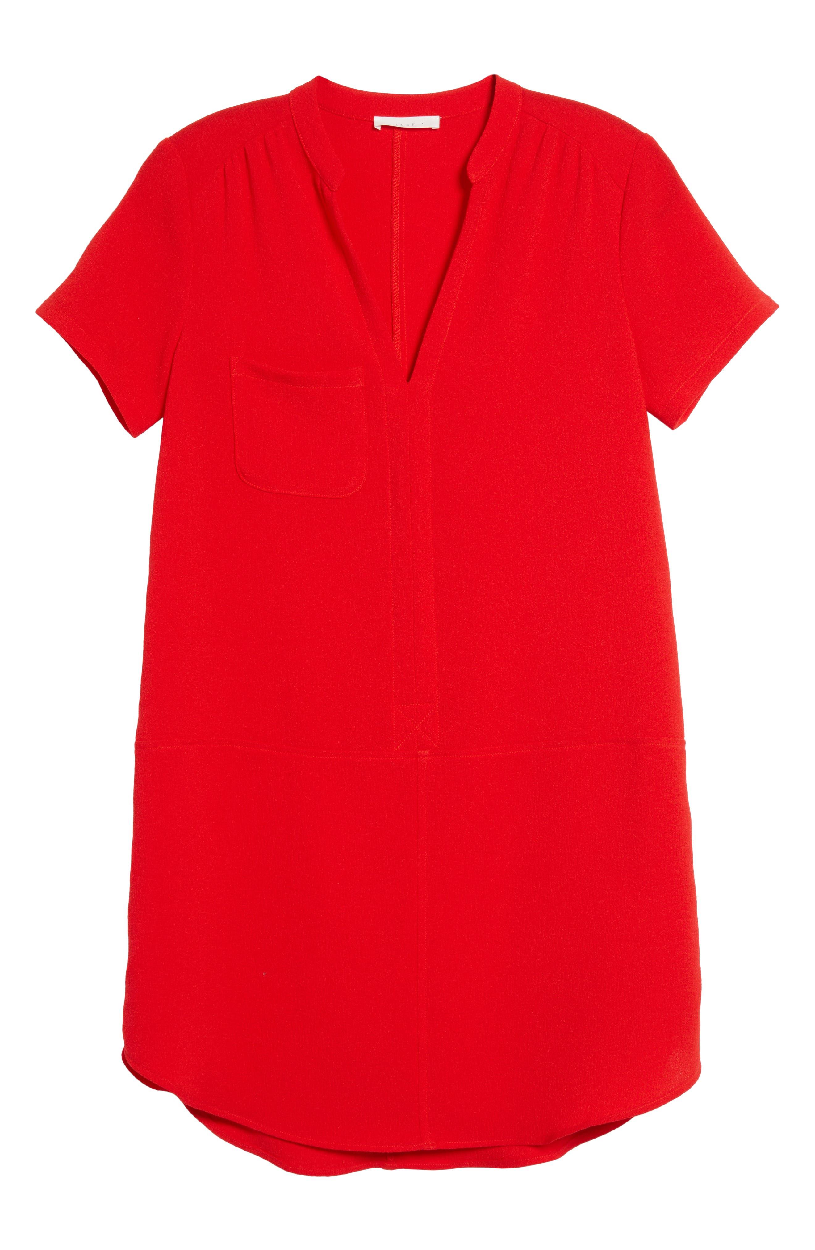 Hailey Crepe Dress,                             Alternate thumbnail 156, color,