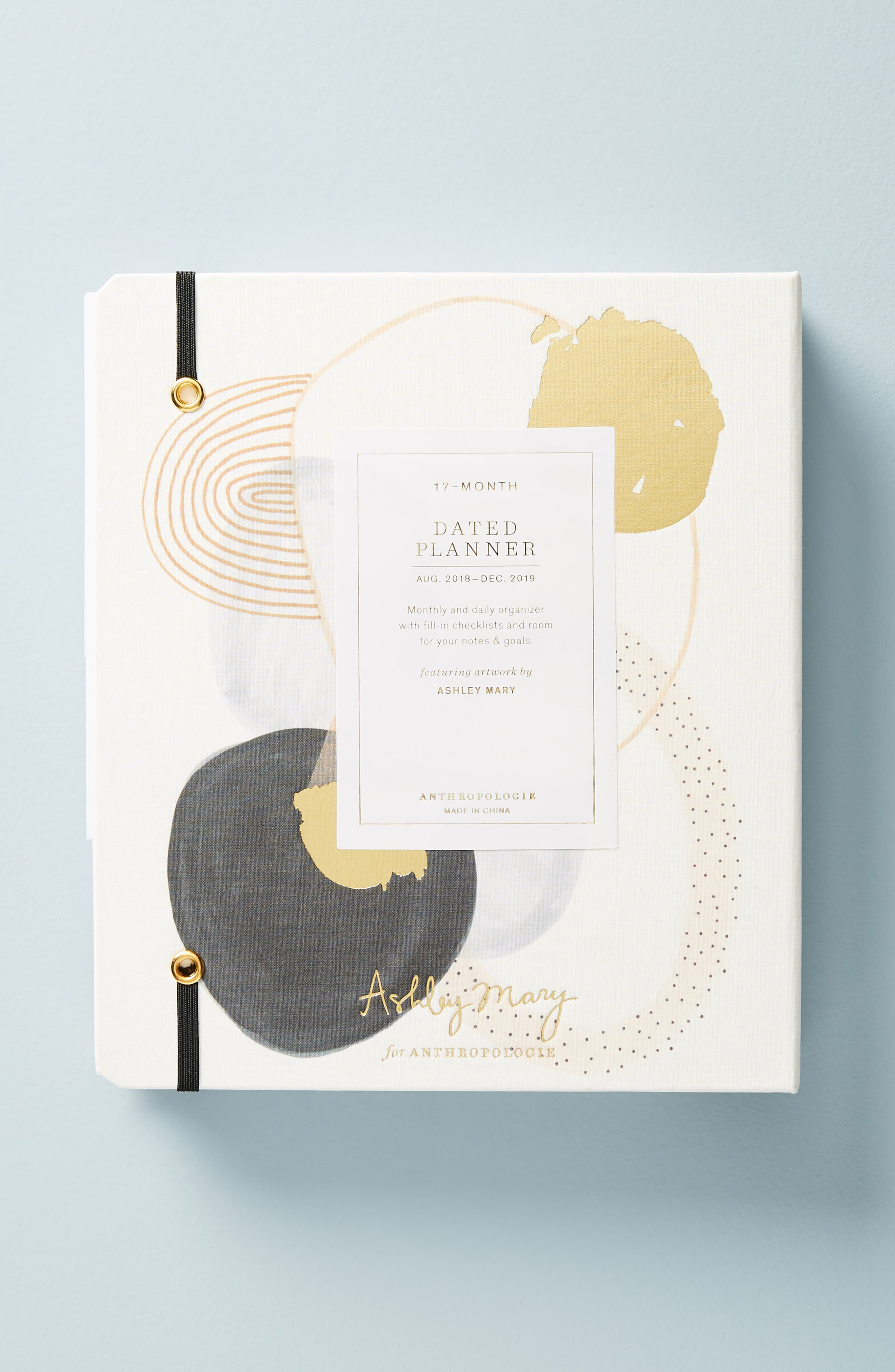 Ashley Mary 17-Month Hardcover Planner,                             Alternate thumbnail 4, color,                             111