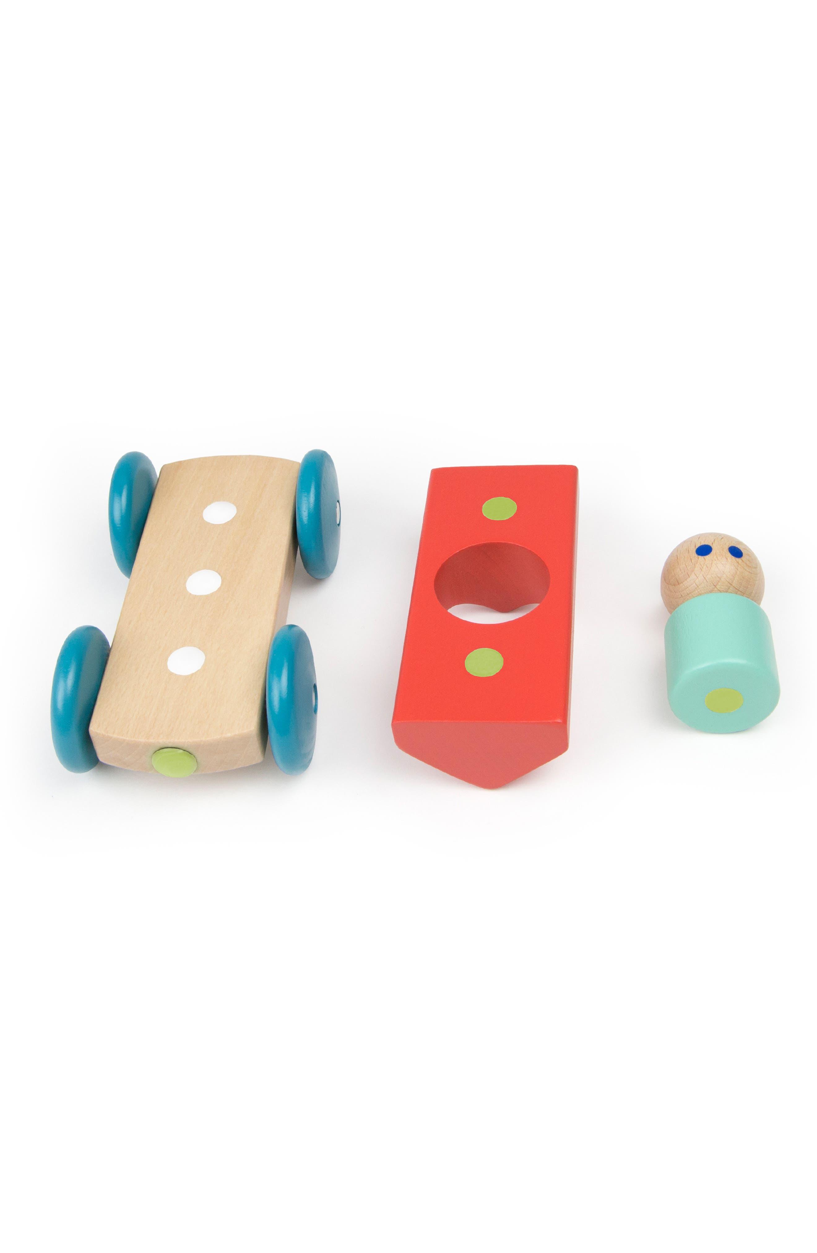 Barn Magnetic Racer Toy,                             Alternate thumbnail 8, color,                             RAINBOW