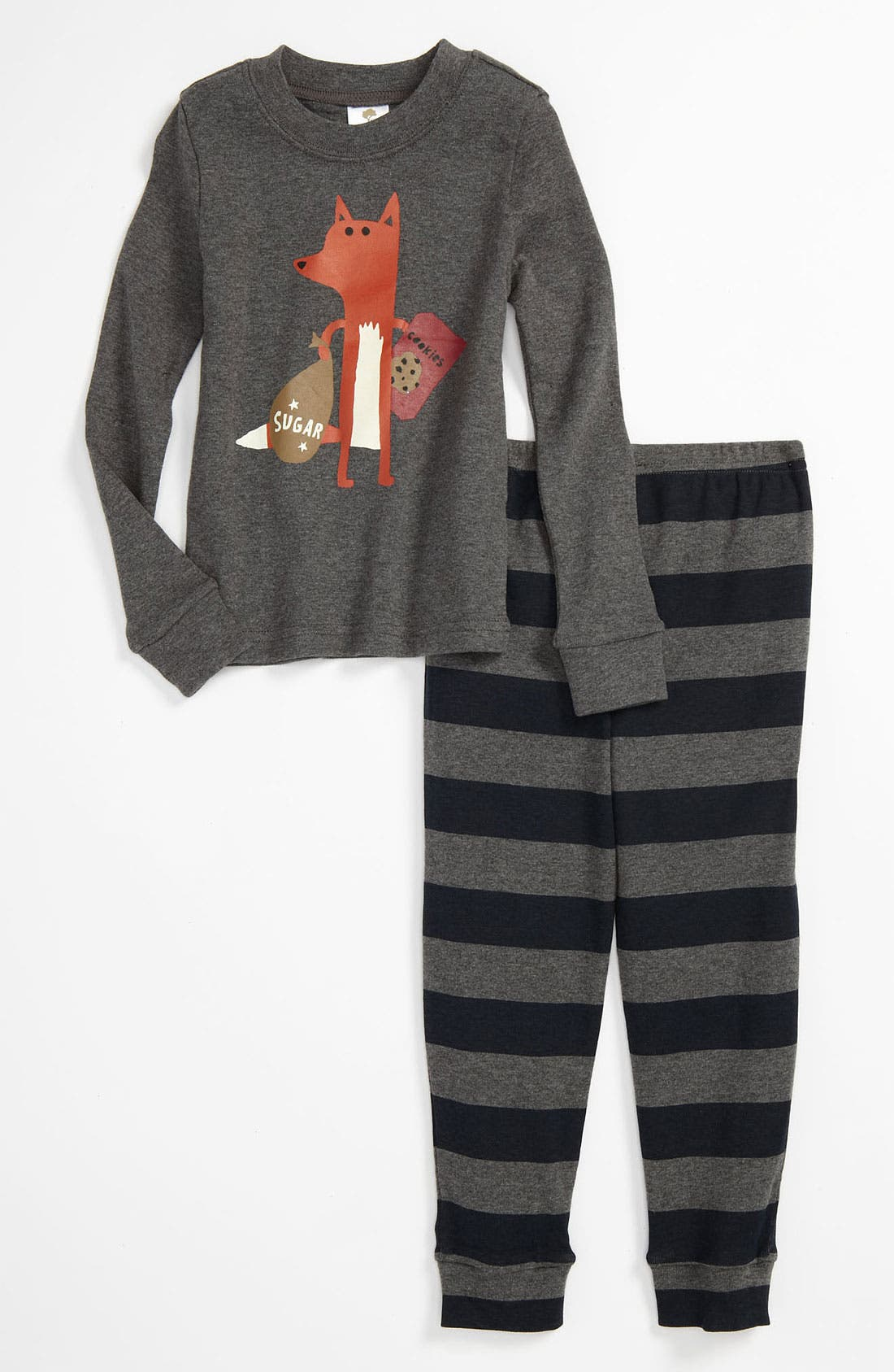 Two-Piece Fitted Pajamas, Main, color, 021
