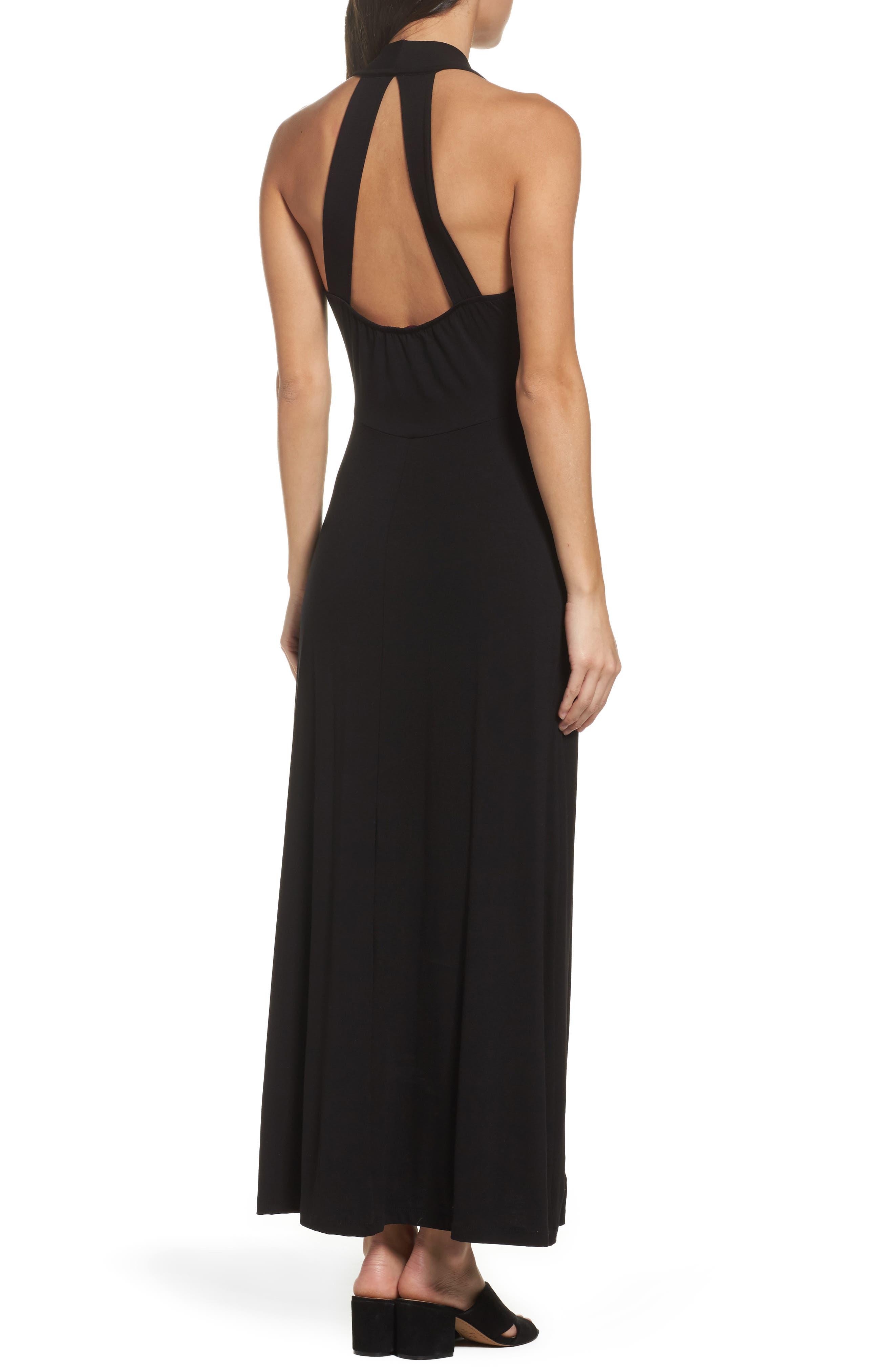 Maxi Dress,                             Alternate thumbnail 2, color,                             002