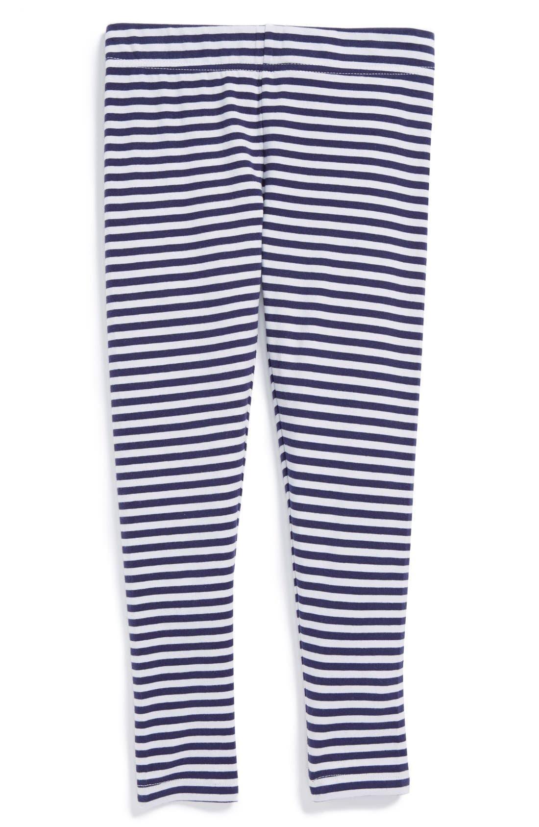 'Core' Striped Leggings,                             Main thumbnail 7, color,