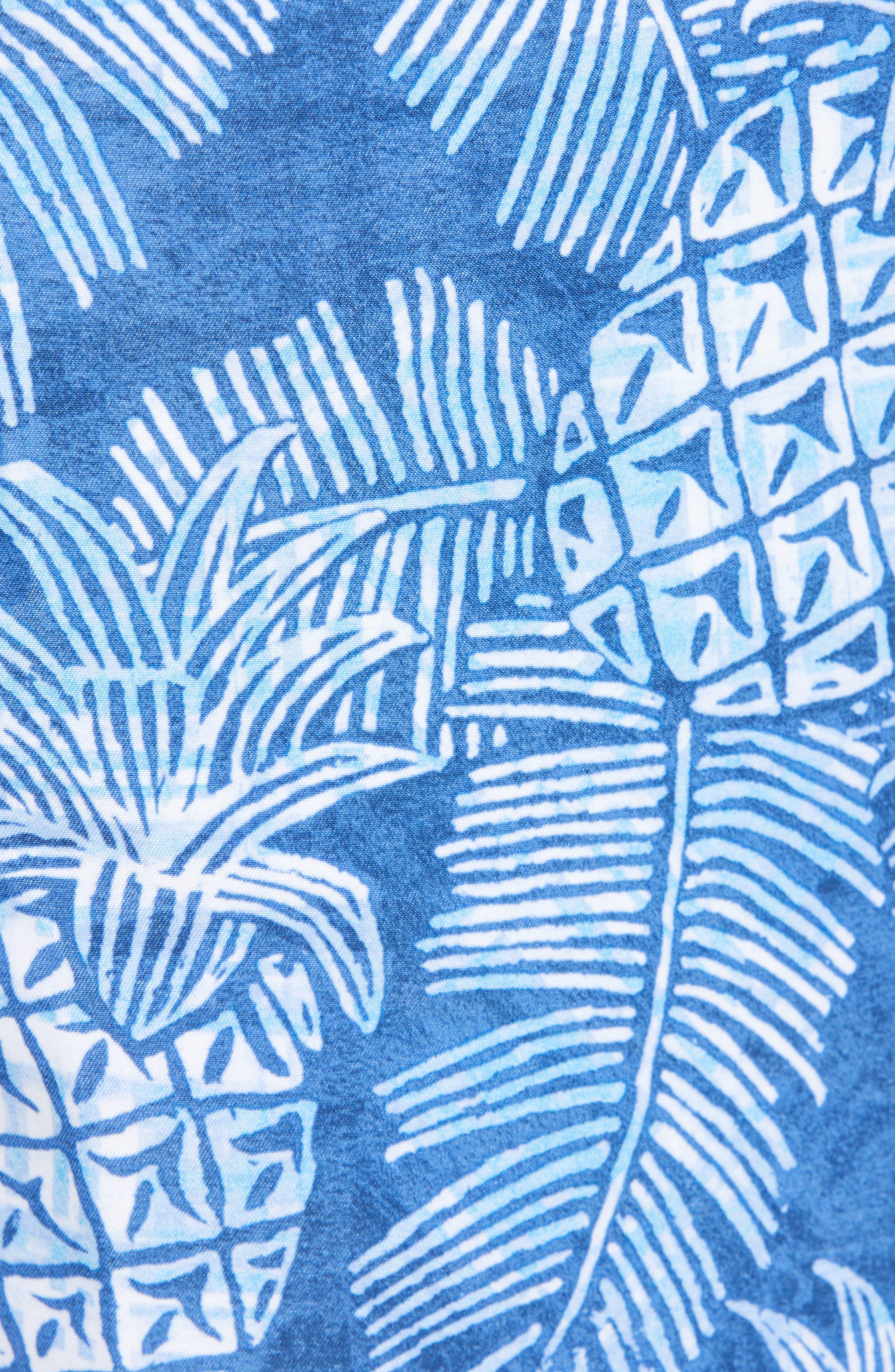 Paradise Around Board Shorts,                             Alternate thumbnail 5, color,                             OCEAN DEEP