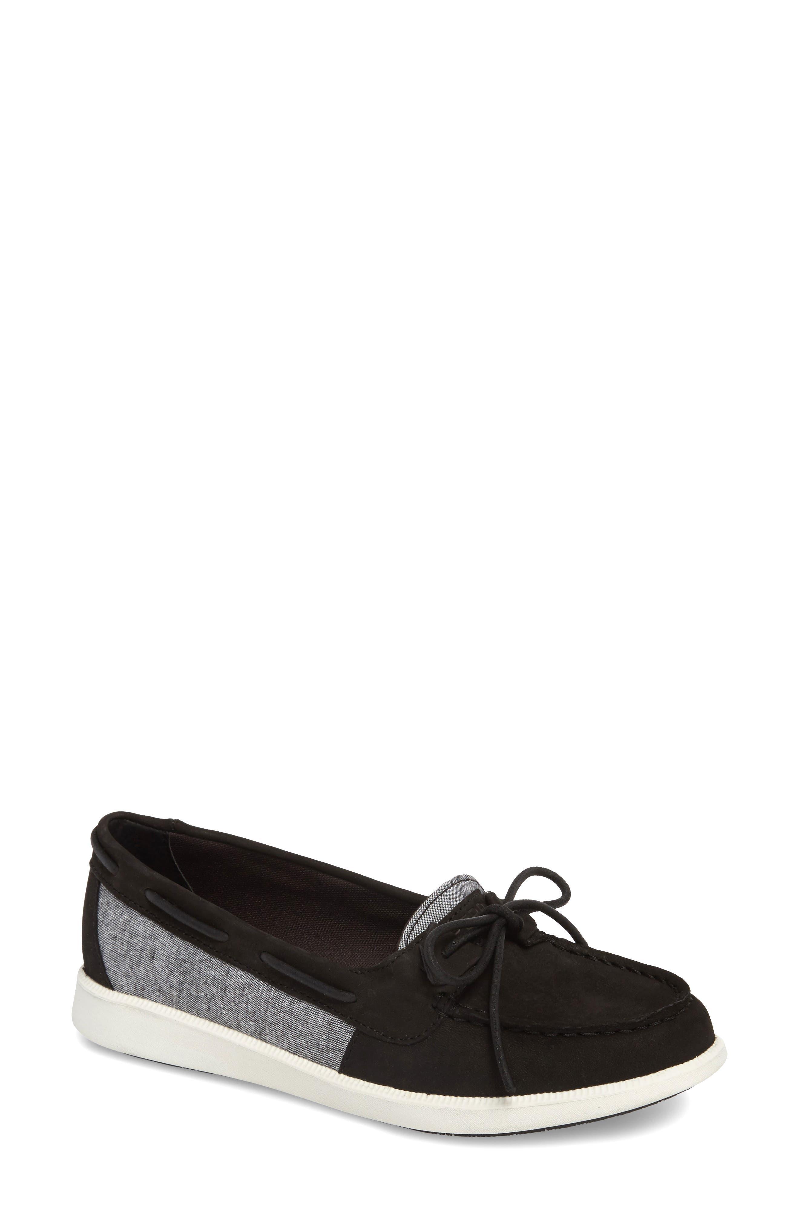 Oasis Boat Shoe,                         Main,                         color, 001