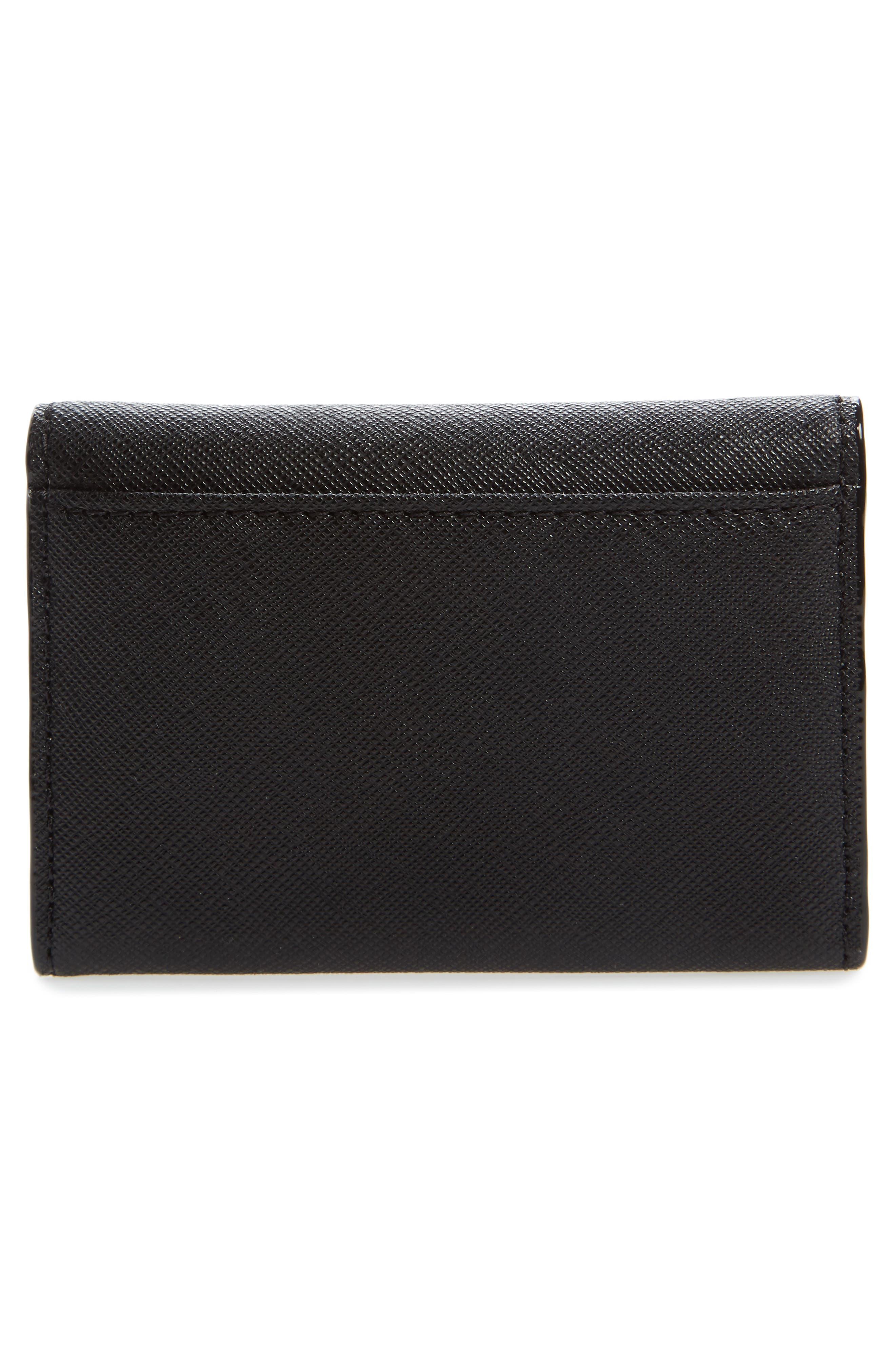 cameron street - farren leather card case,                             Alternate thumbnail 2, color,                             001