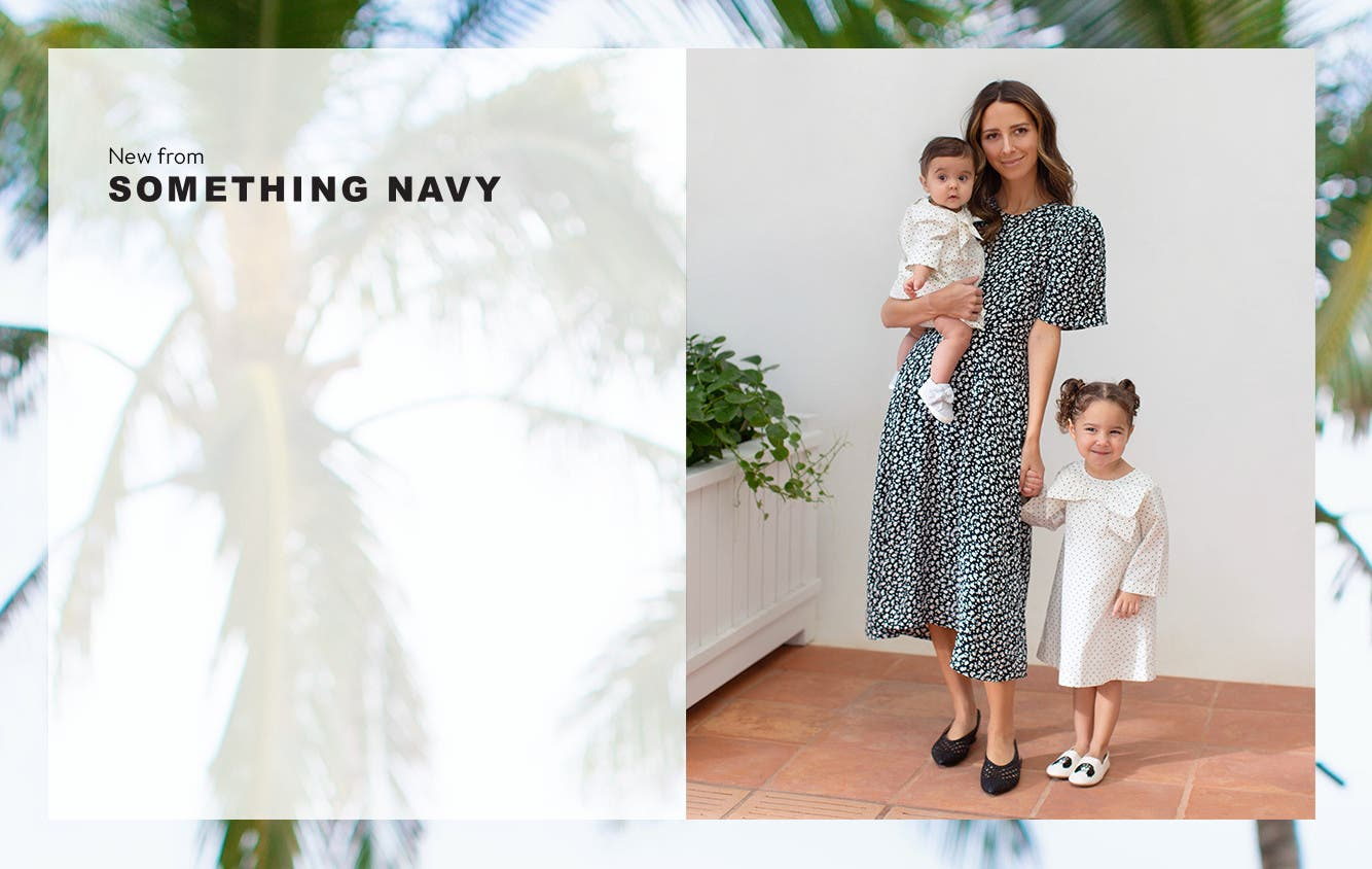 The Something Navy spring drop is here.