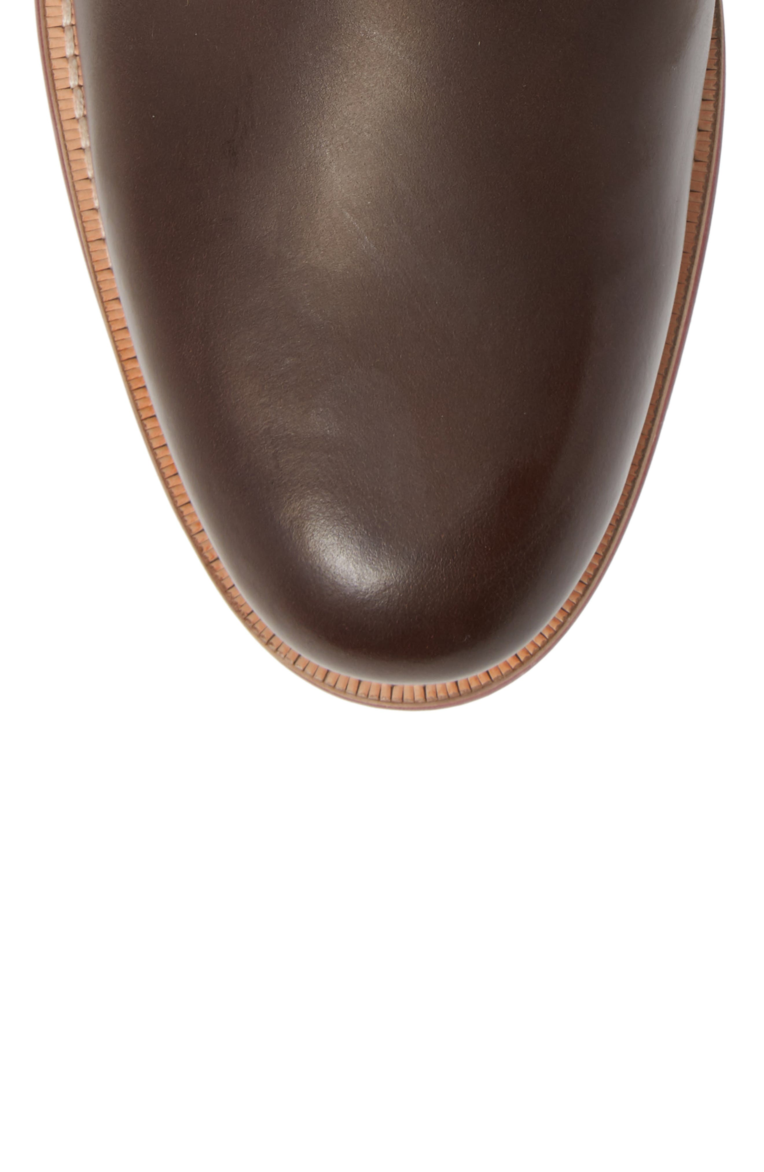 Axtoni Boot,                             Alternate thumbnail 5, color,                             BROWN LEATHER