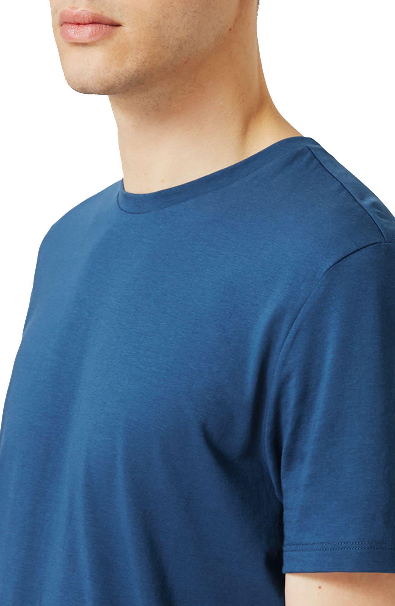 Slim Fit Crewneck T-Shirt,                             Alternate thumbnail 253, color,