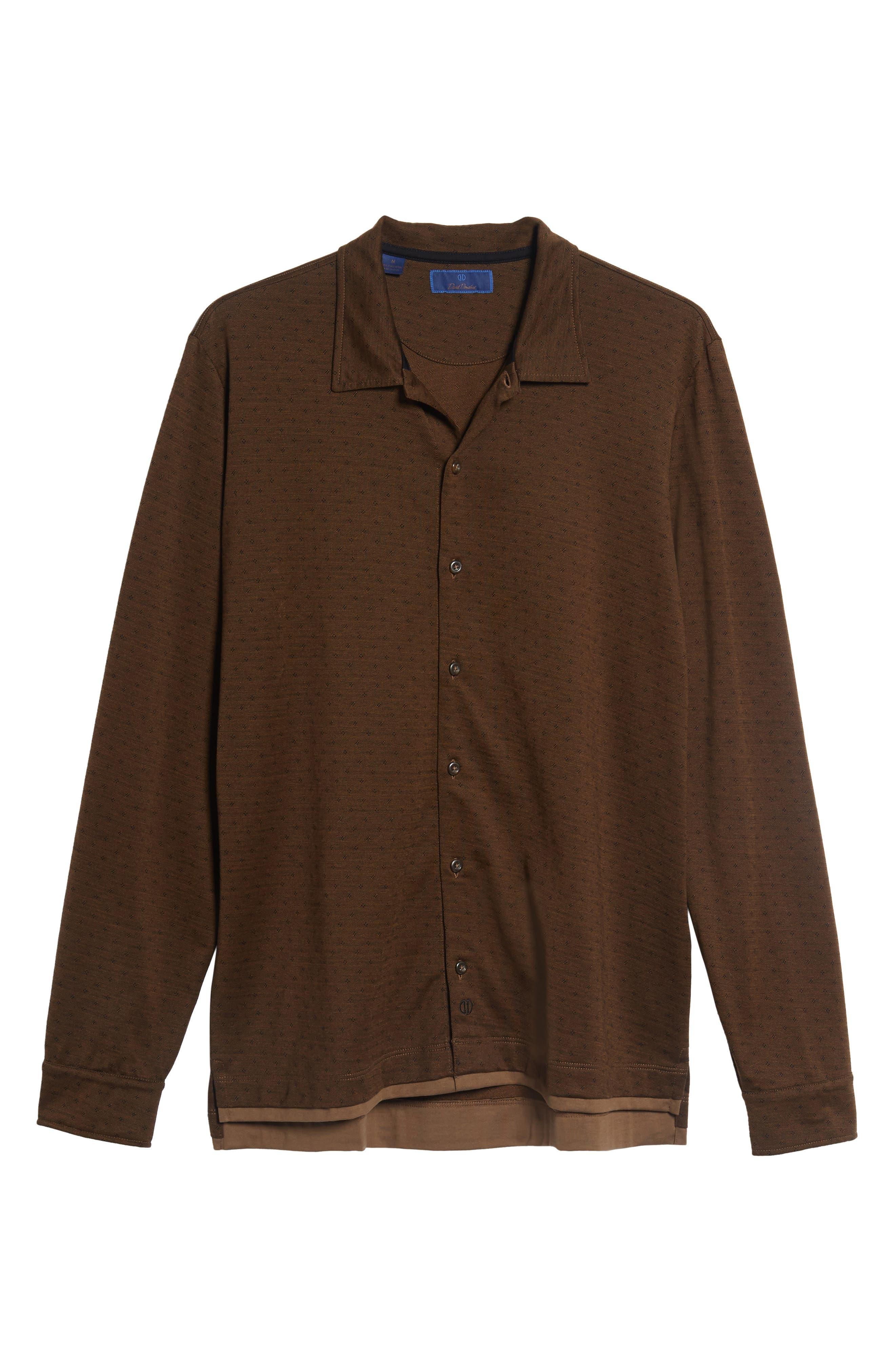 Jacquard Knit Sport Shirt,                             Alternate thumbnail 22, color,