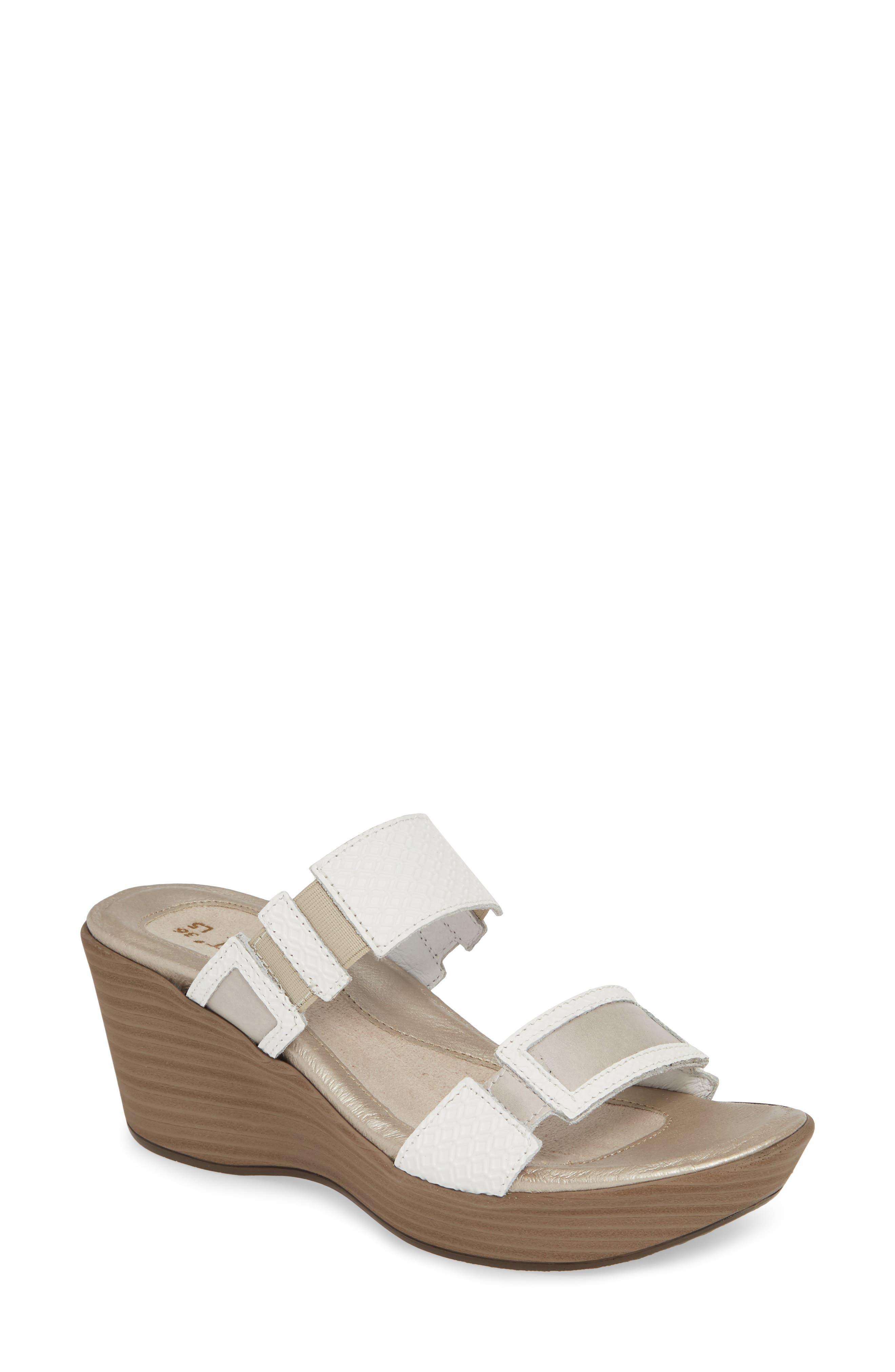 NAOT 'Treasure' Sandal, Main, color, WHITE DIAMOND/ QUARTZ