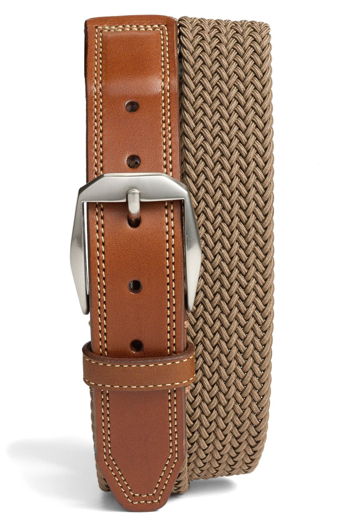 'Beck' Stretch Belt,                             Main thumbnail 4, color,