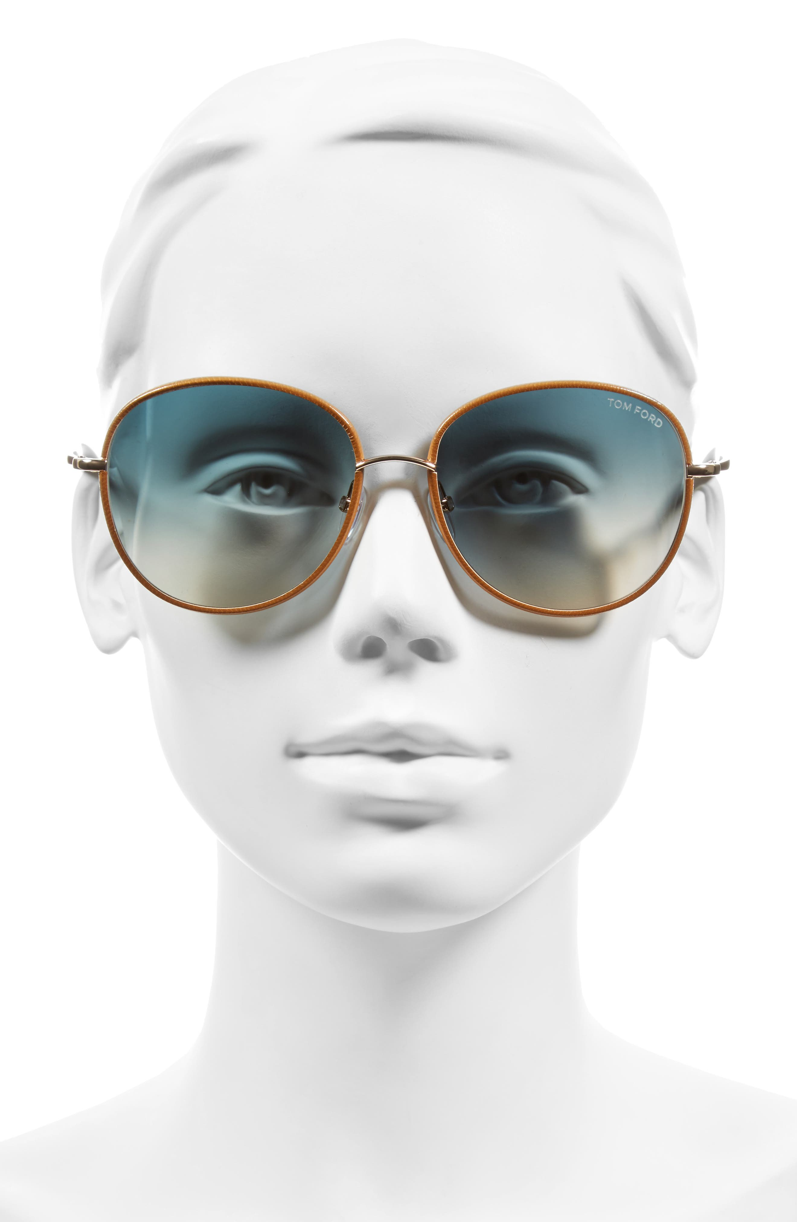 Georgia 59mm Sunglasses,                             Alternate thumbnail 4, color,                             710