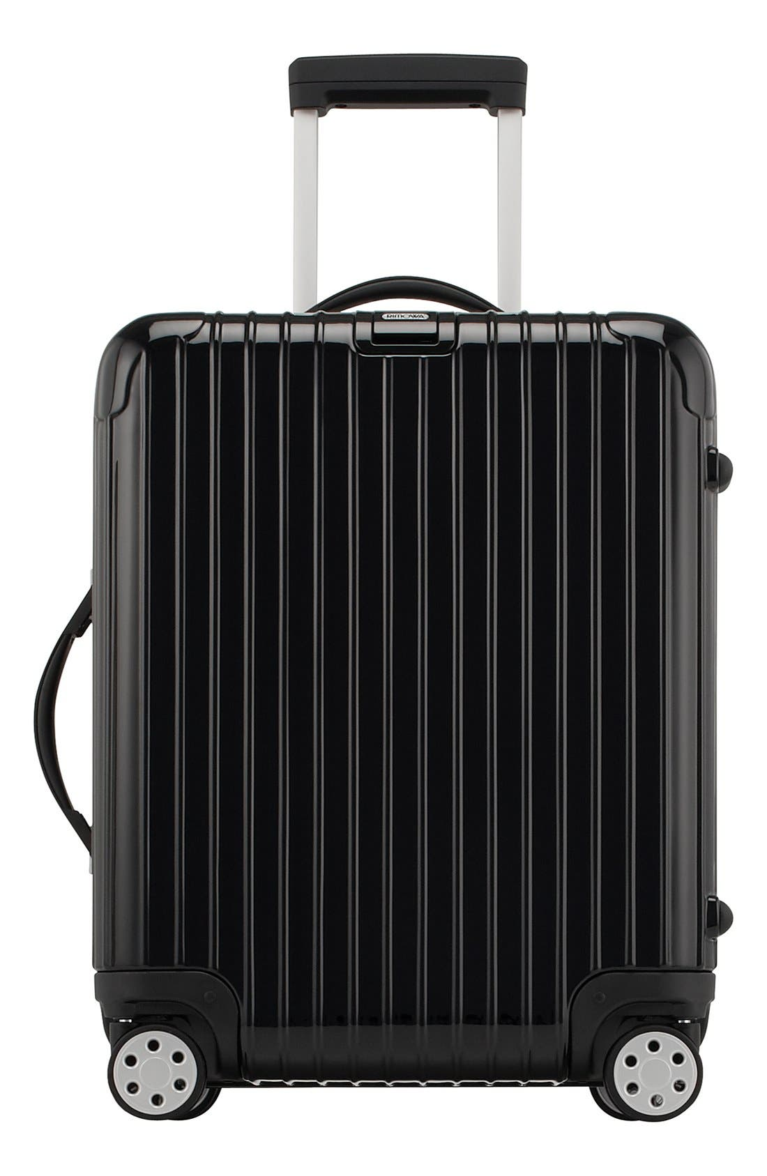Salsa Deluxe 22-Inch Cabin Multiwheel<sup>®</sup> Carry-On,                             Main thumbnail 1, color,                             BLACK
