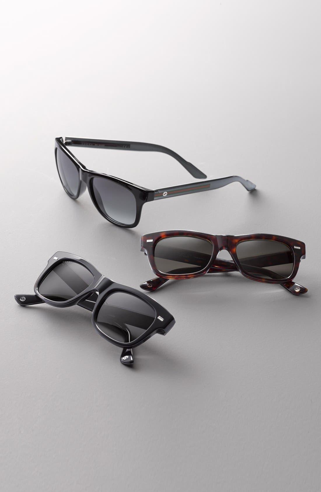 57mm Bio Based Sunglasses, Main, color, 001