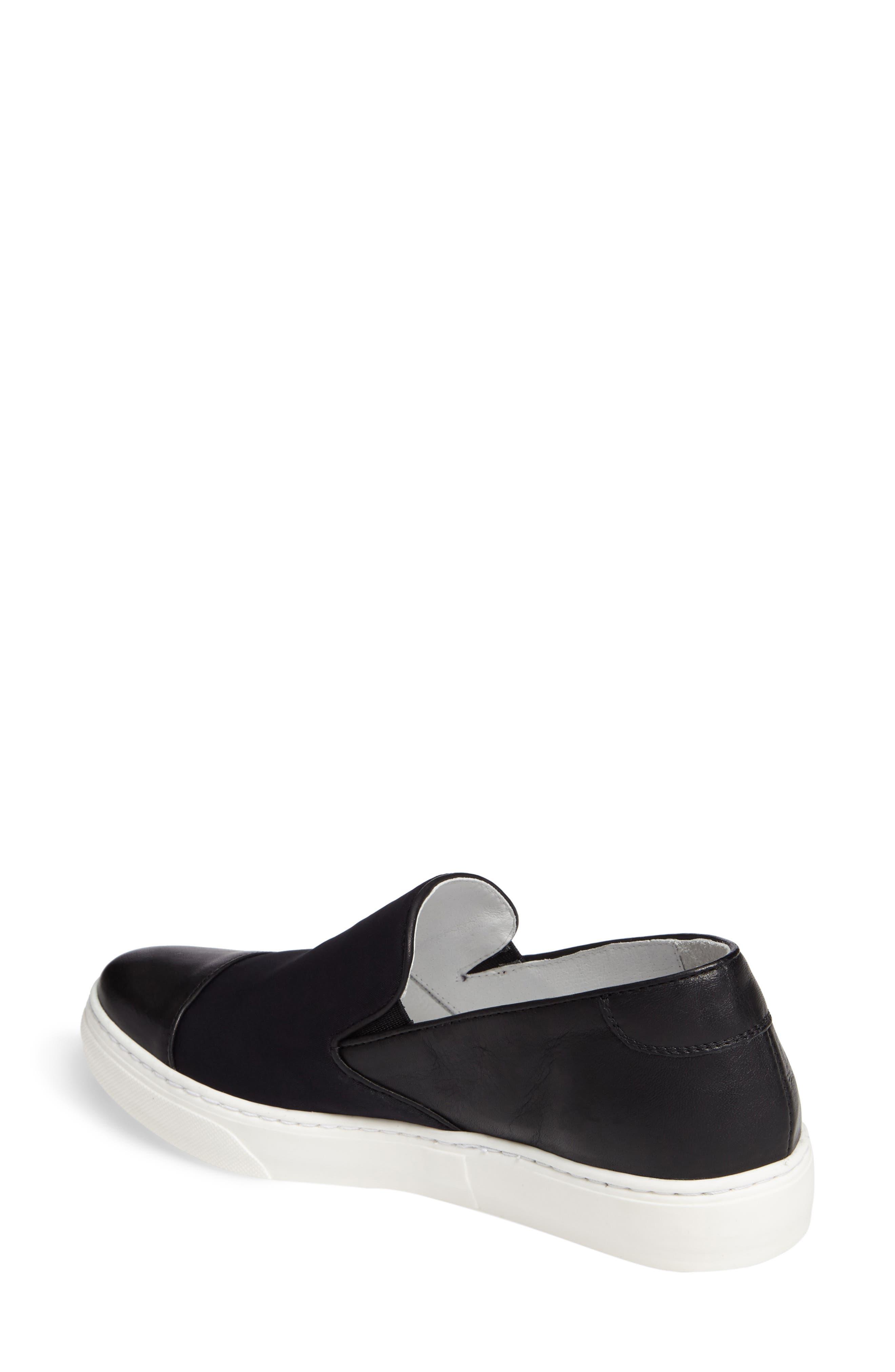 Betsy Slip-On Sneaker,                             Alternate thumbnail 2, color,                             001