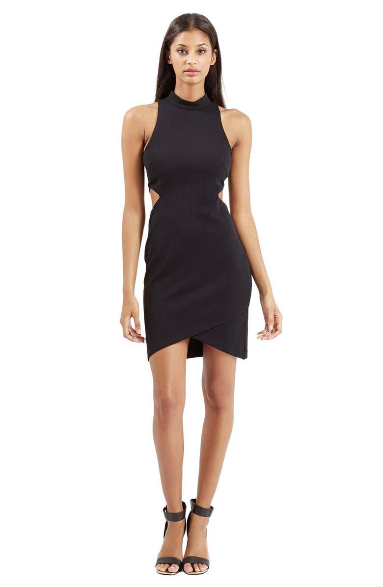 Topshop High Neck Cutout Dress  7247e8a22