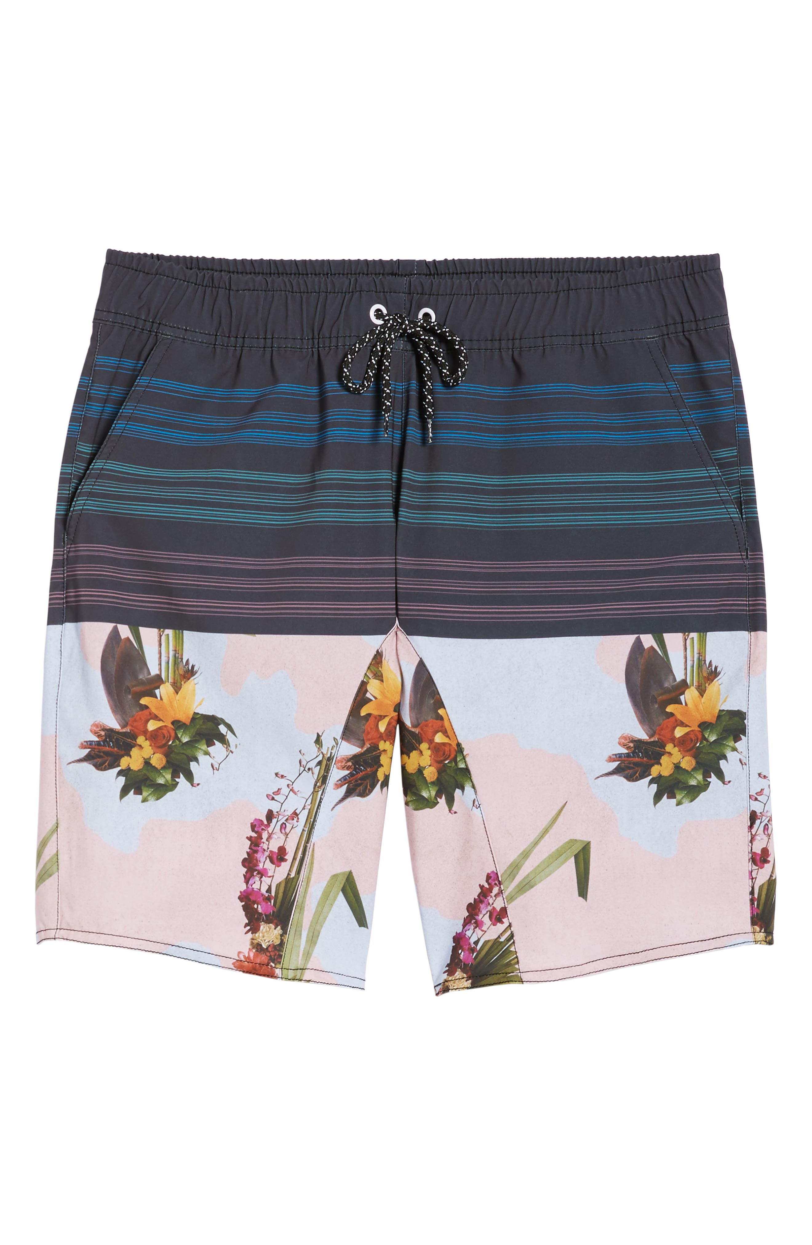 Oasis Swim Shorts,                             Alternate thumbnail 6, color,                             001