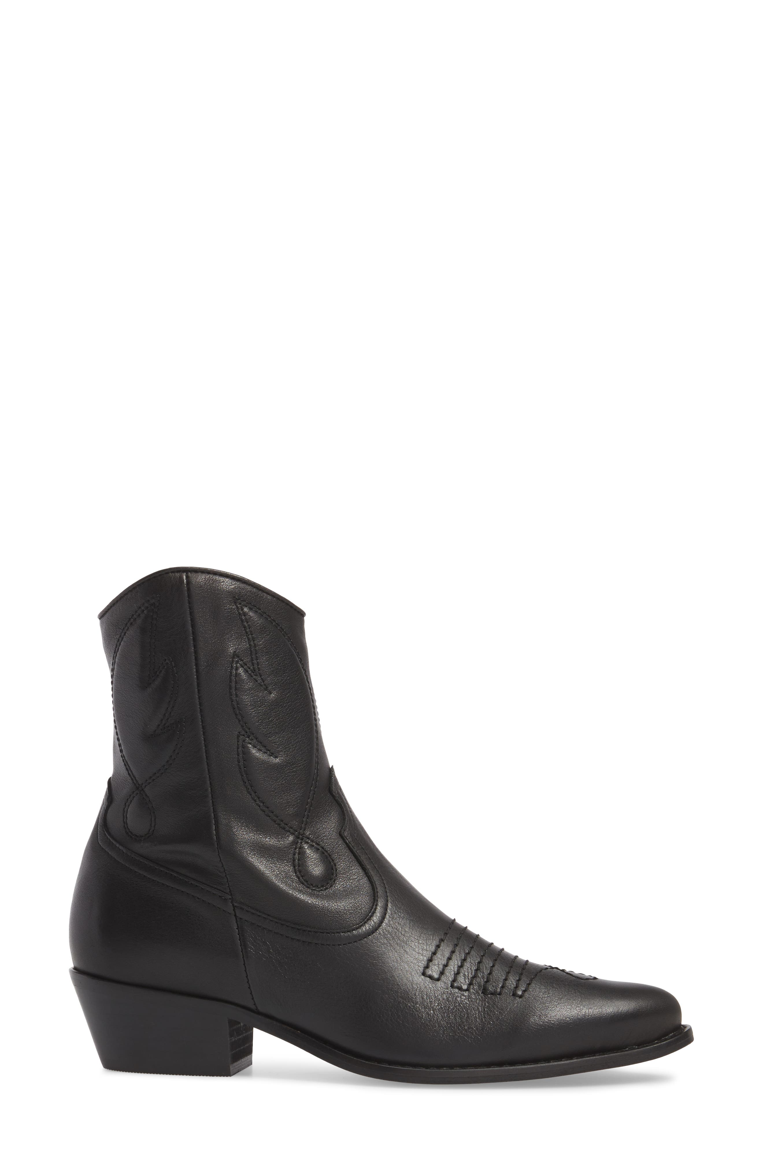 Arizona Western Boot,                             Alternate thumbnail 3, color,                             001