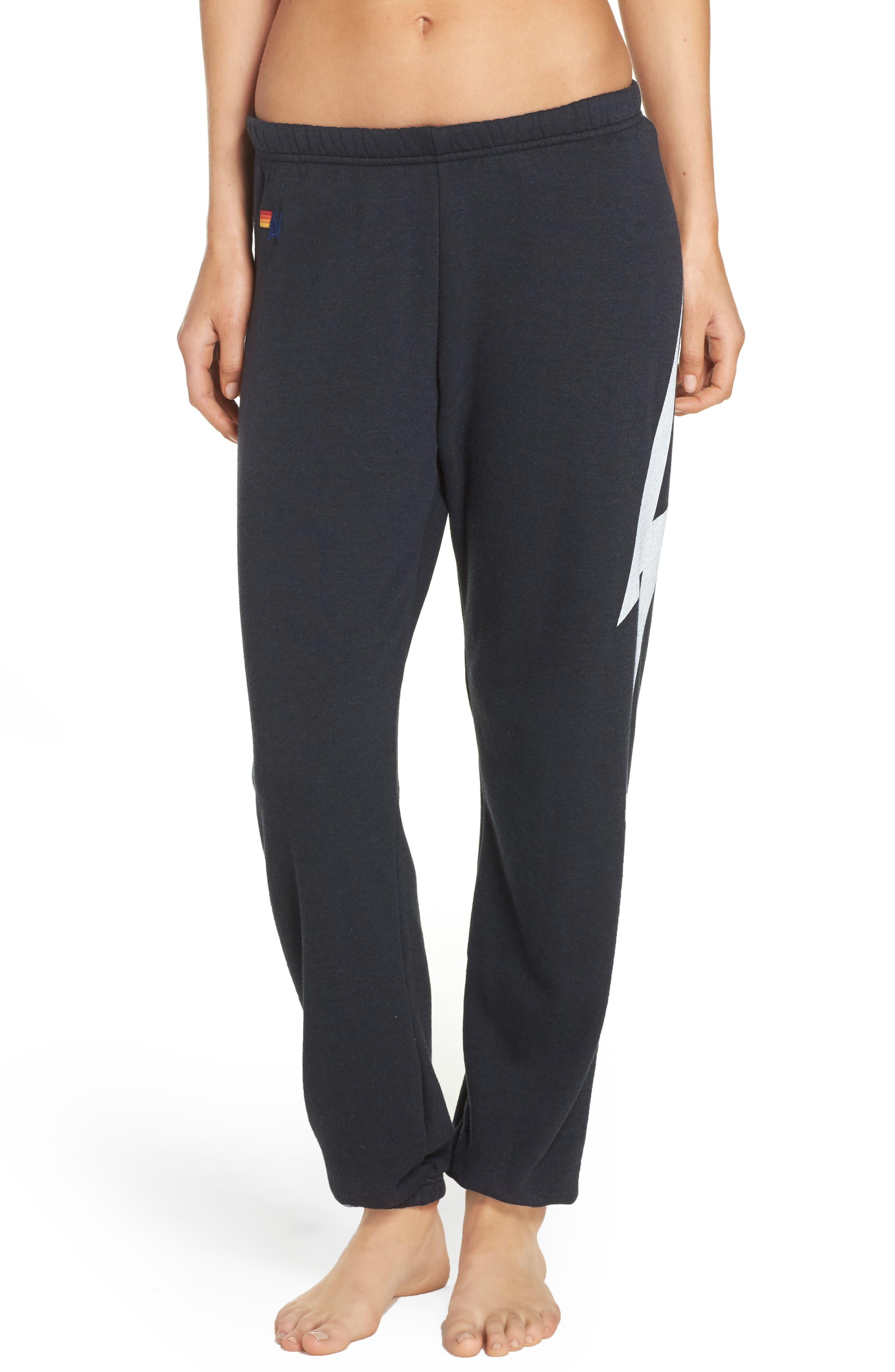 Bolt Sweatpants,                         Main,                         color, CHARCOAL