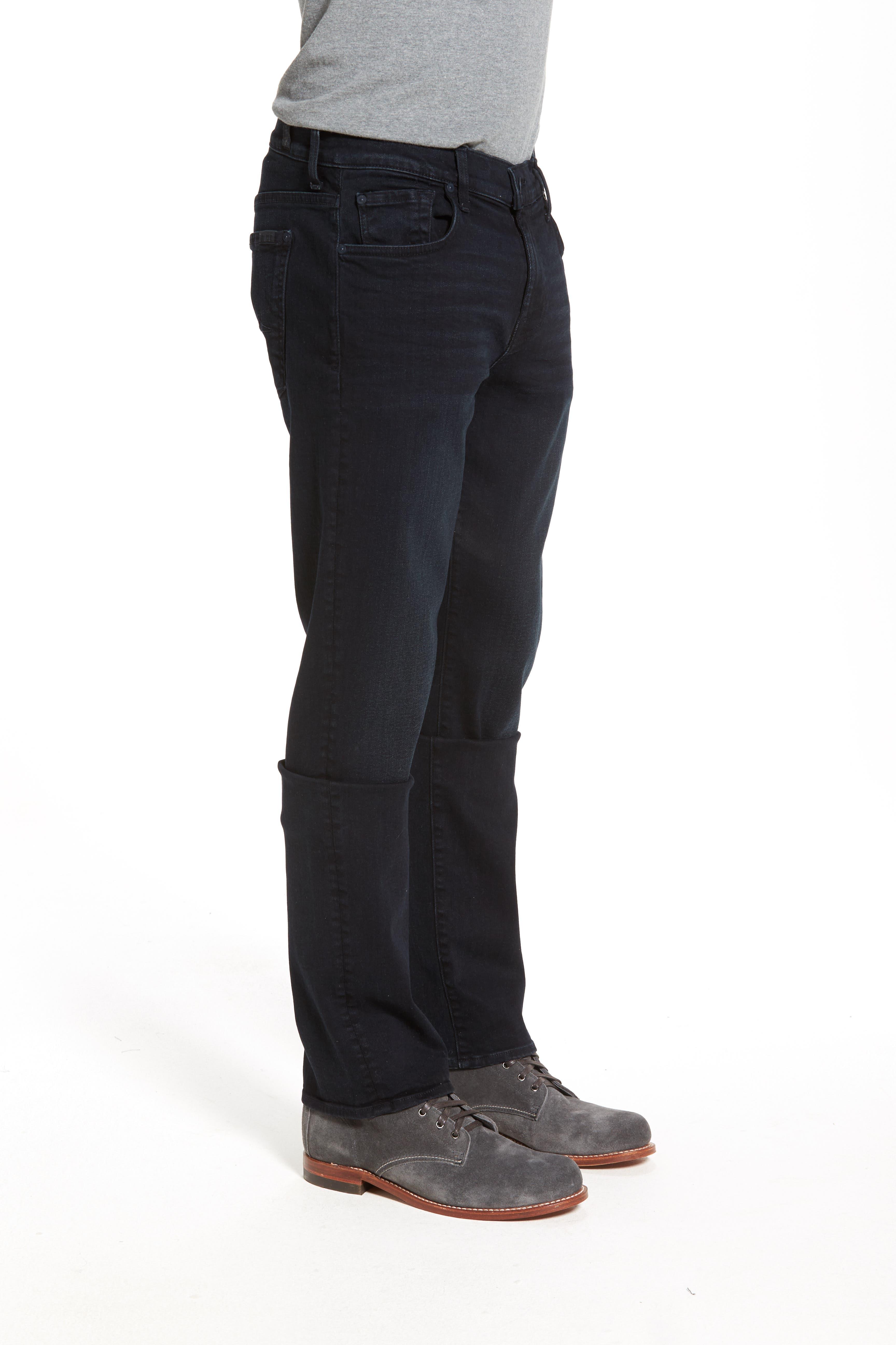 'Standard - Luxe Performance' Straight Leg Jeans,                             Alternate thumbnail 5, color,                             STOCKHOLME