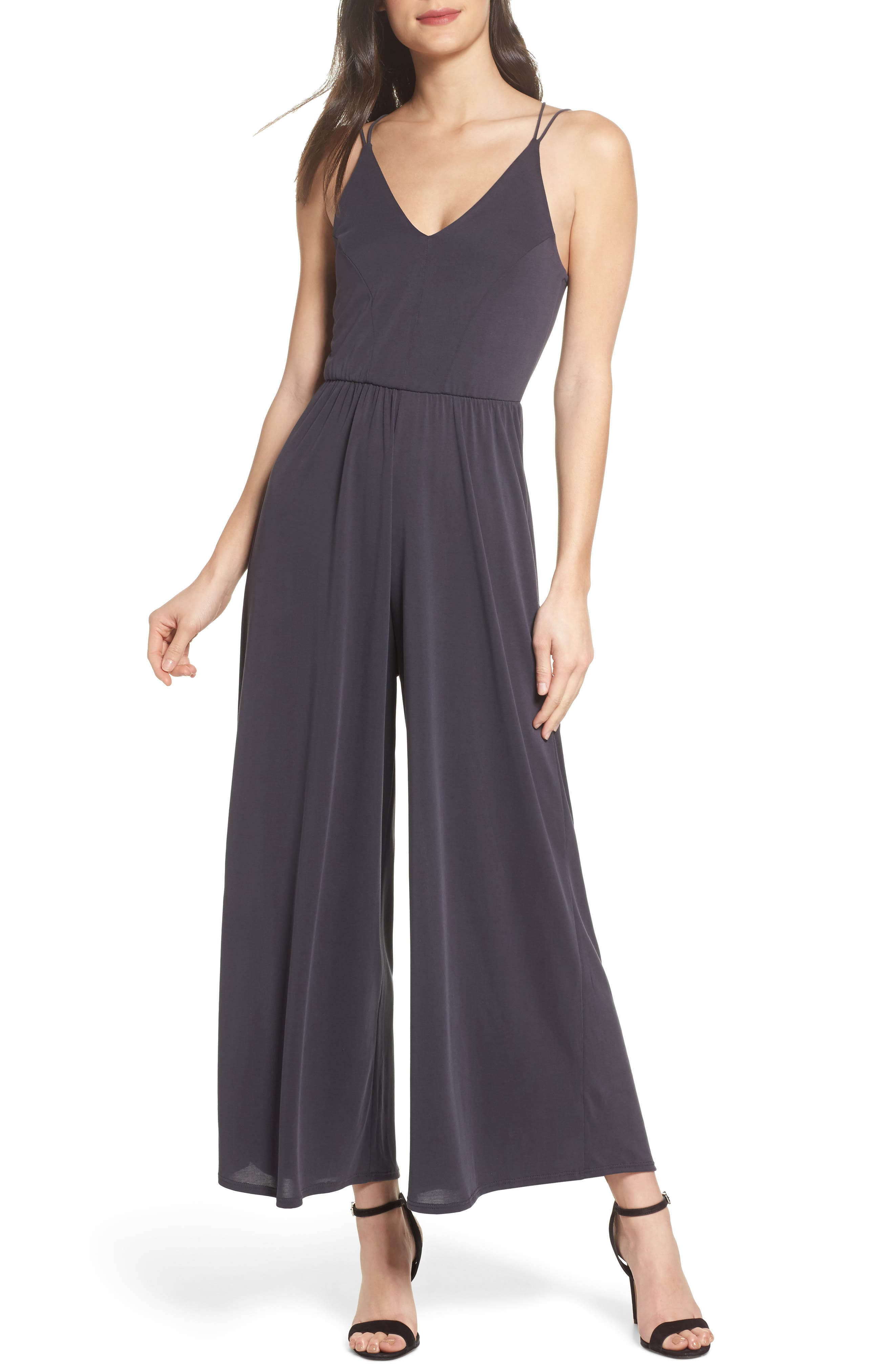 Strappy Jumpsuit,                             Main thumbnail 1, color,                             004