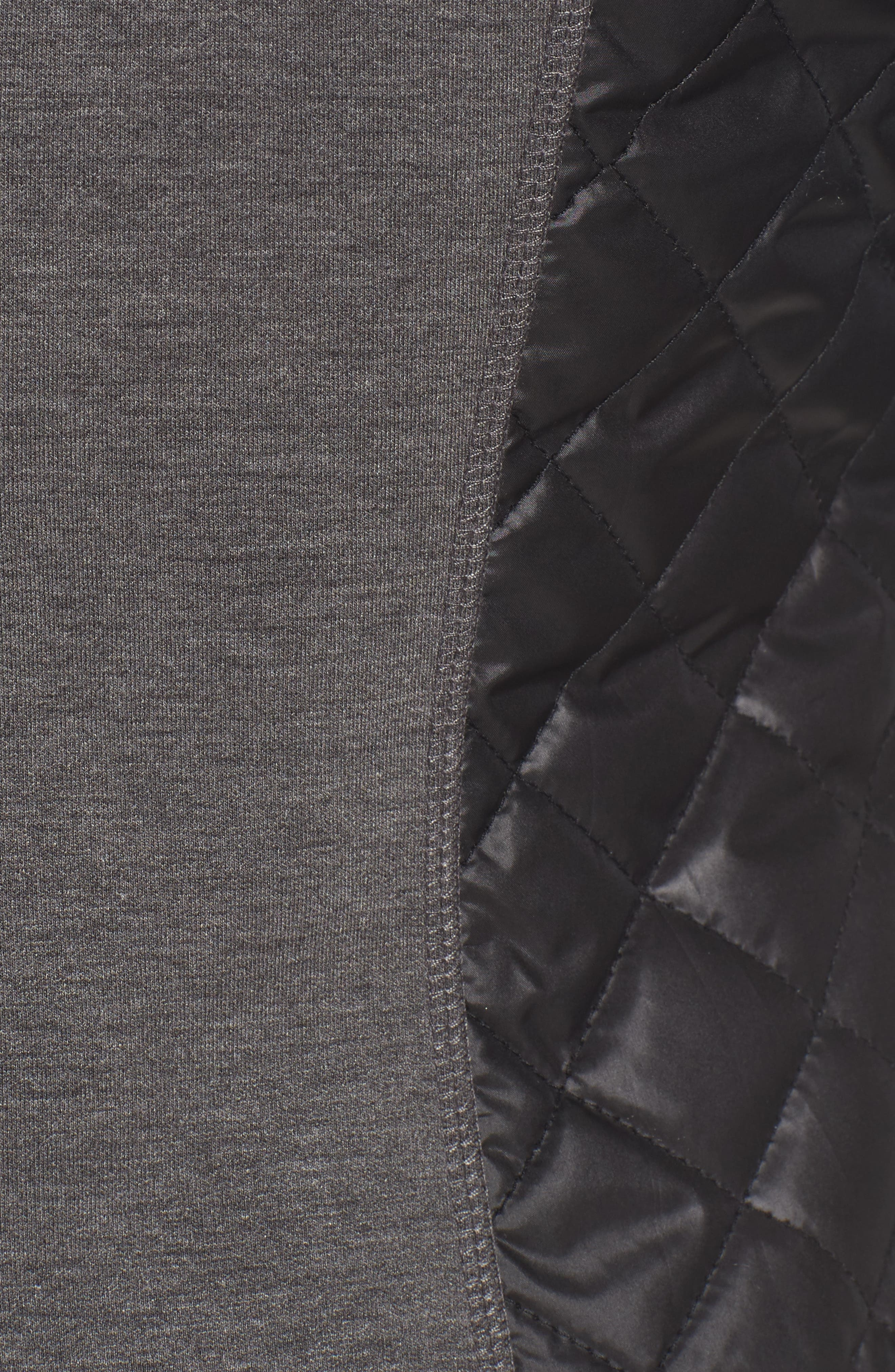 Mixed Media Hooded Jacket,                             Alternate thumbnail 6, color,                             028
