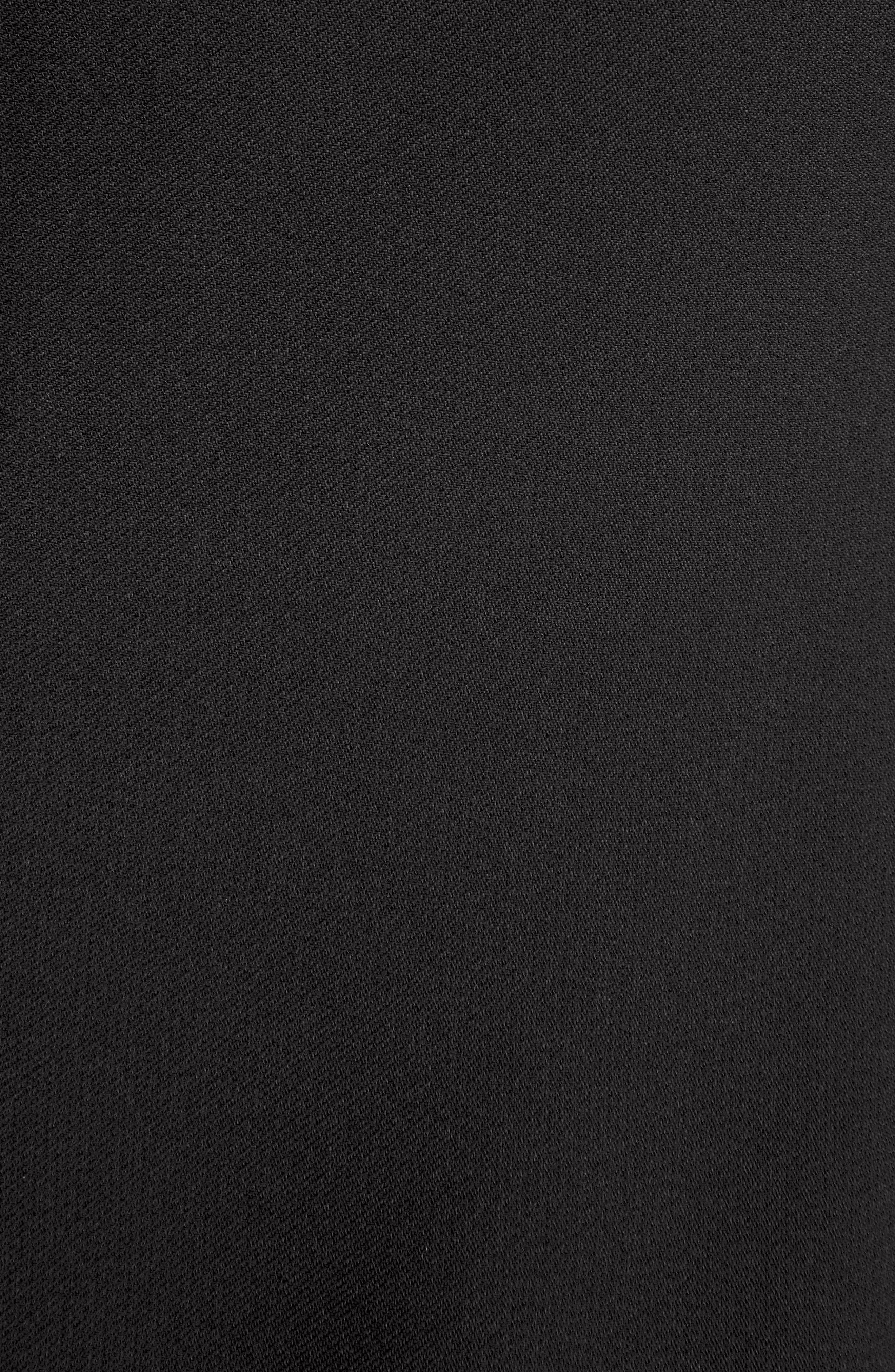 Stretch Cady Cape Dress,                             Alternate thumbnail 6, color,