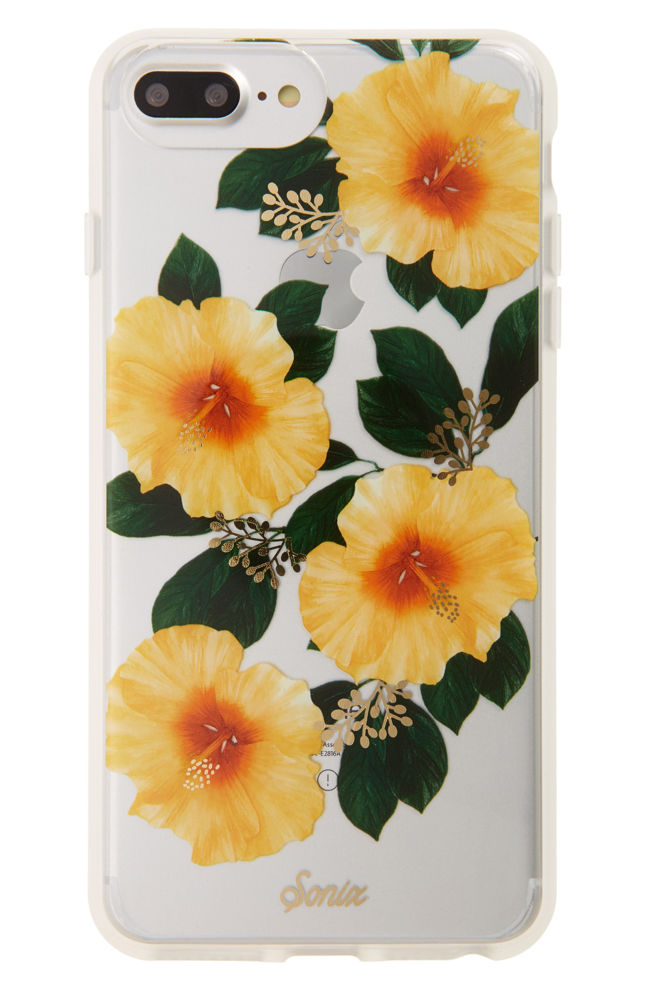 Hibiscus iPhone 6/6s/7/8 & 6/6s/7/8 Plus Case,                             Main thumbnail 1, color,                             700