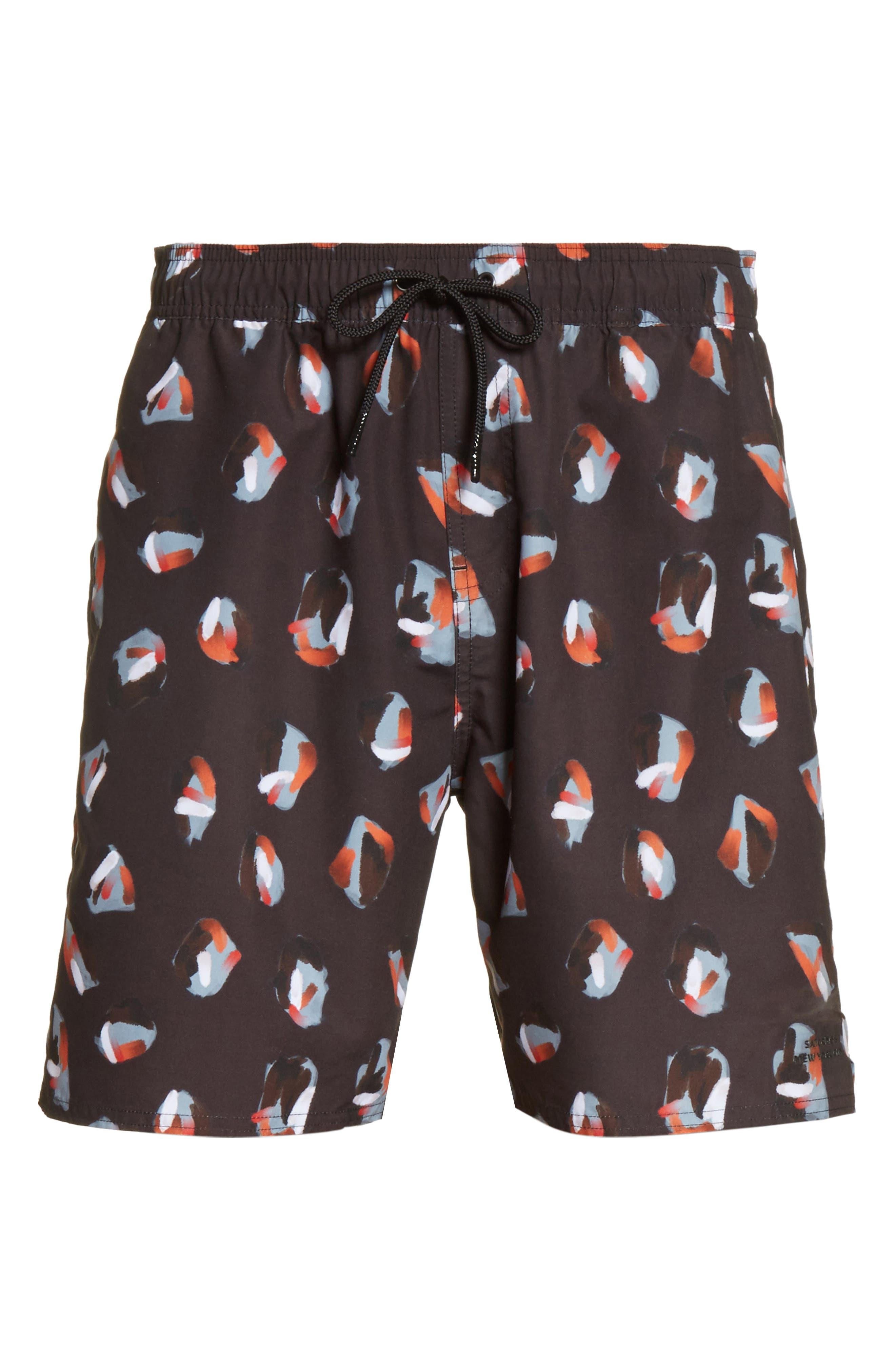 Timothy Spots Swim Shorts,                             Alternate thumbnail 6, color,
