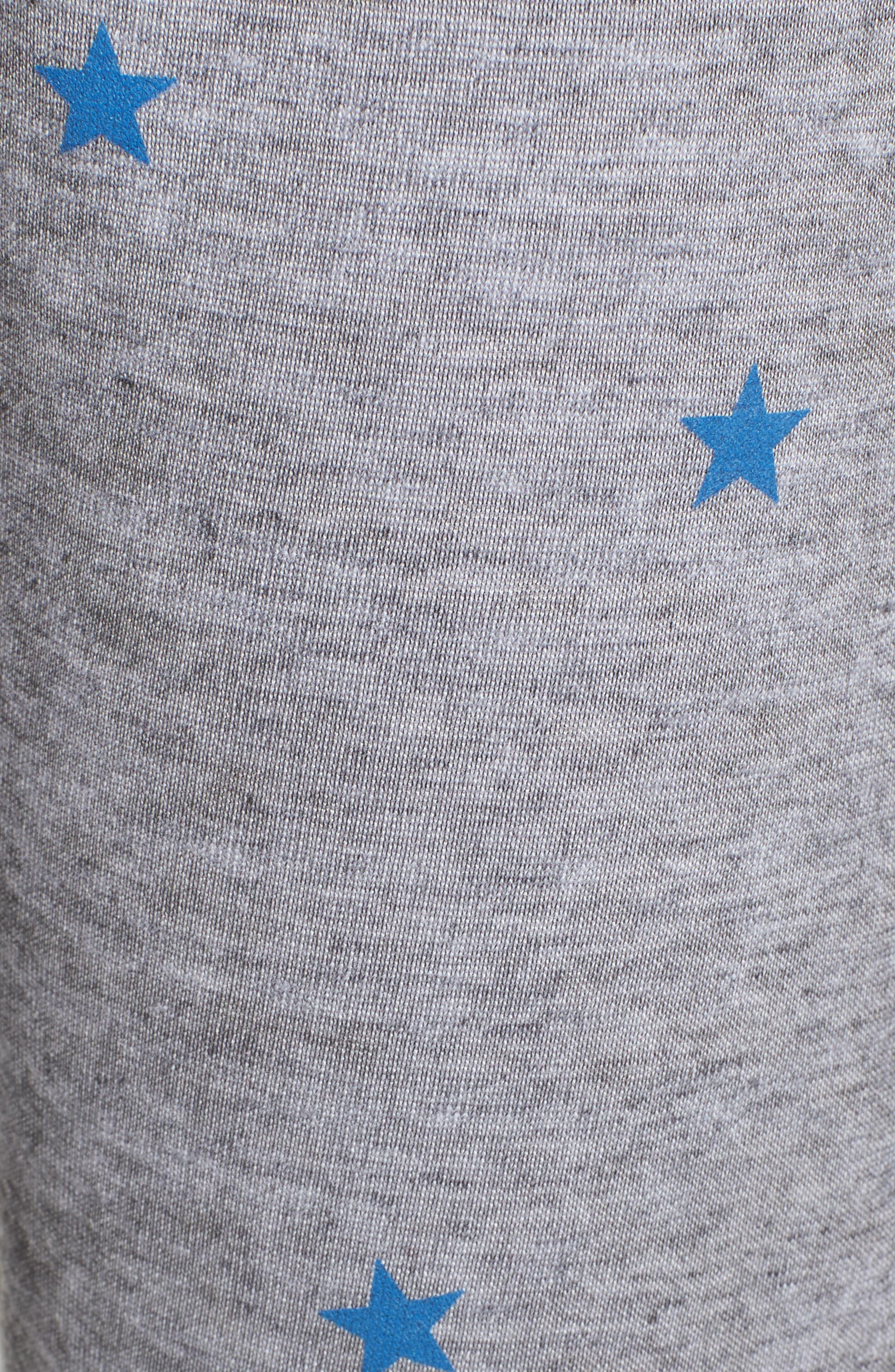 WILDFOX,                             Football Star Knot Sweatpants,                             Alternate thumbnail 5, color,                             020