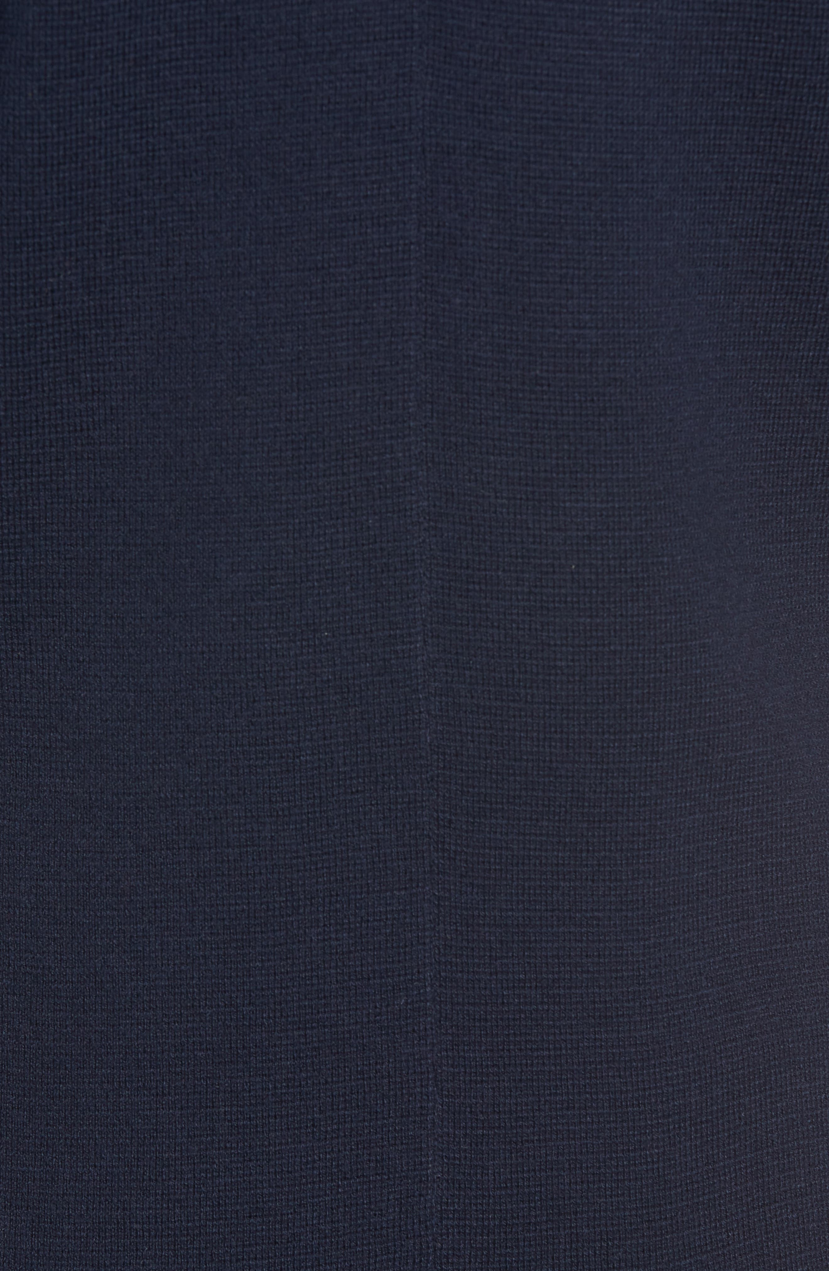 Merino Sweater Blazer,                             Alternate thumbnail 7, color,                             NAVY